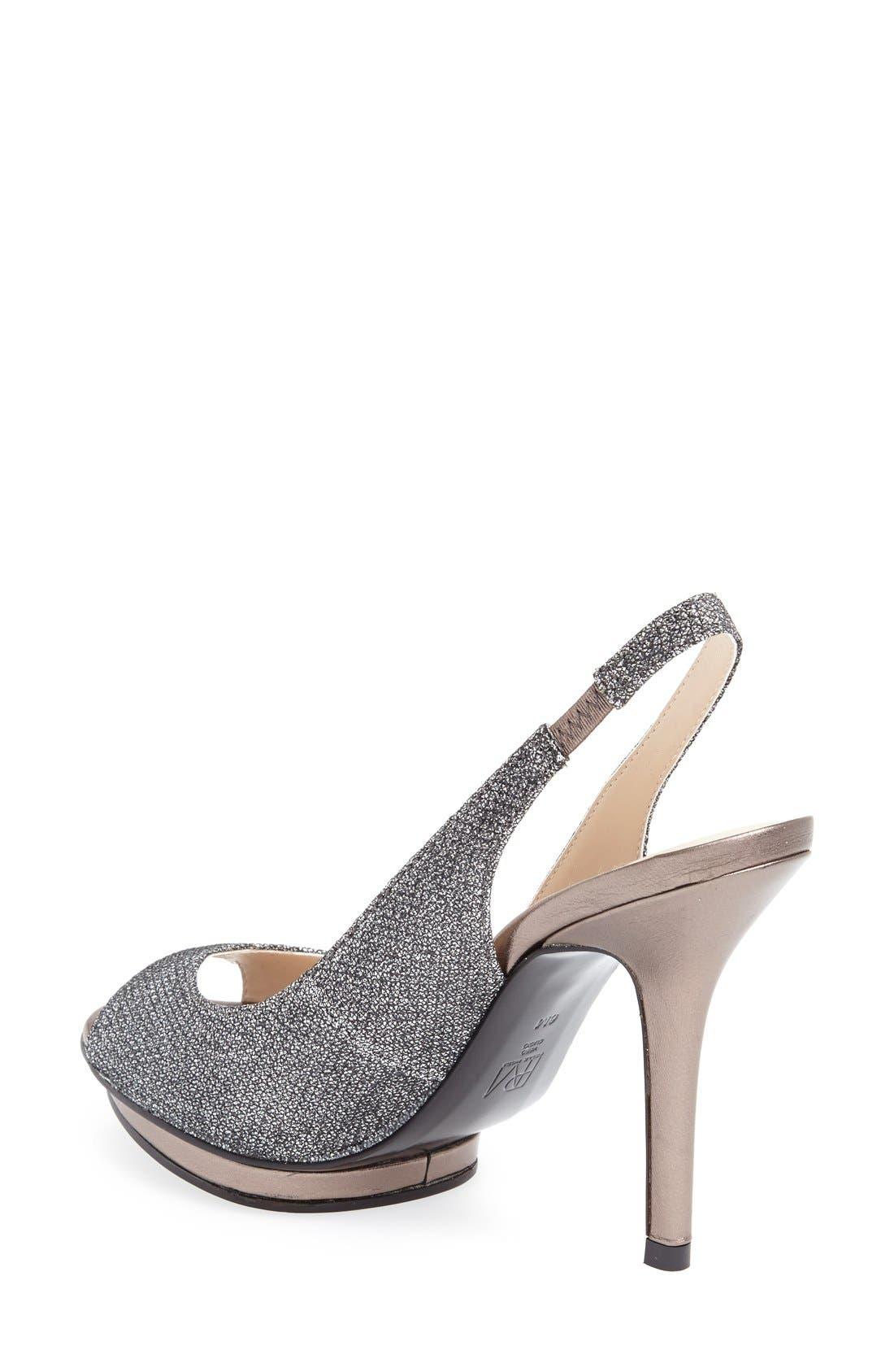 Alternate Image 2  - Pelle Moda 'Rivka' Open Toe Platform Slingback Sandal (Women)