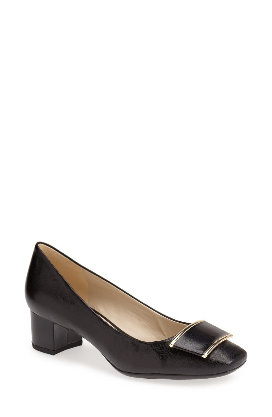 Alternate Image 1 Selected - Naturalizer 'Faulkner' Leather Pump (Women)