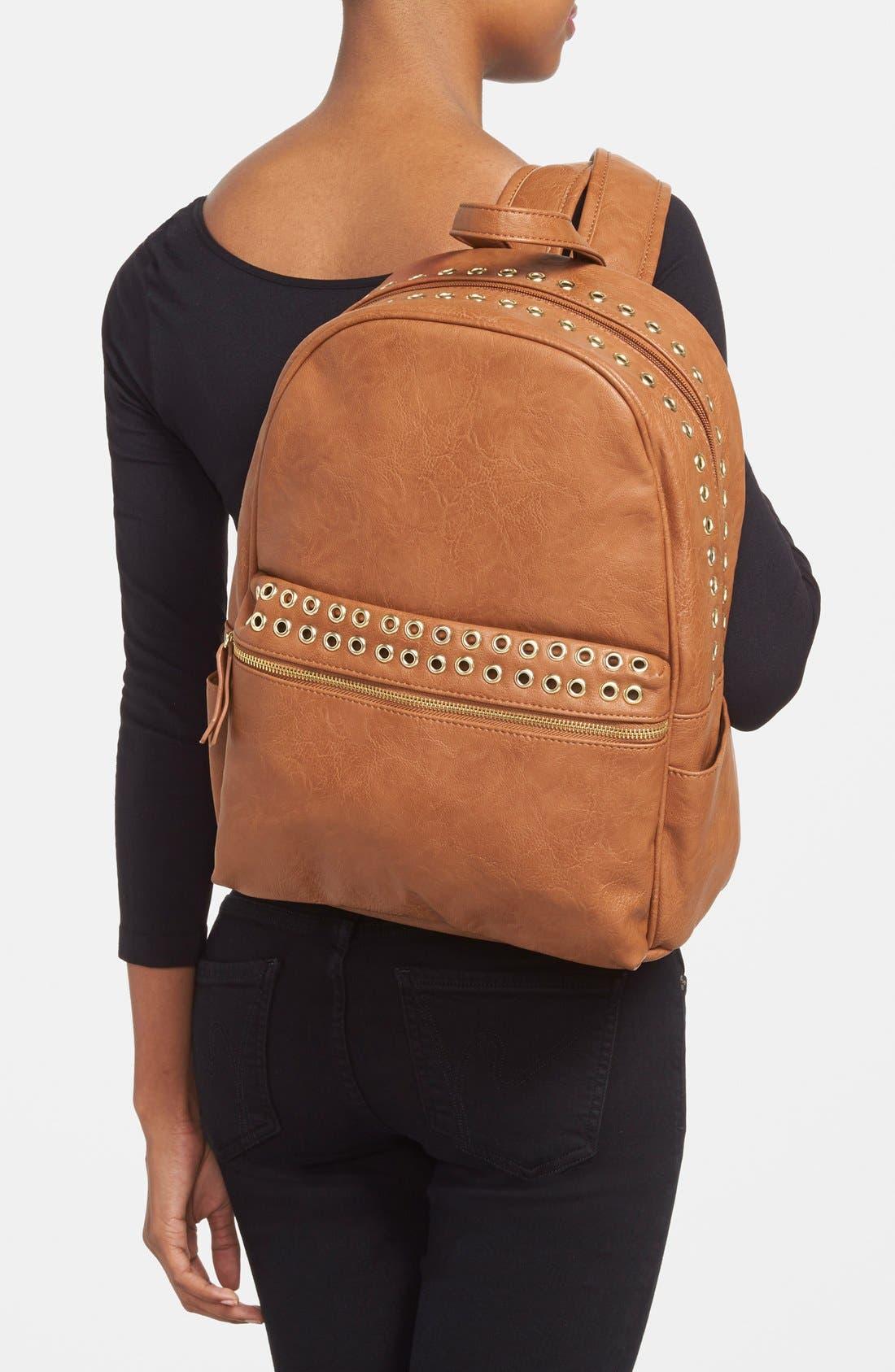 Alternate Image 2  - Steve Madden Grommet Backpack