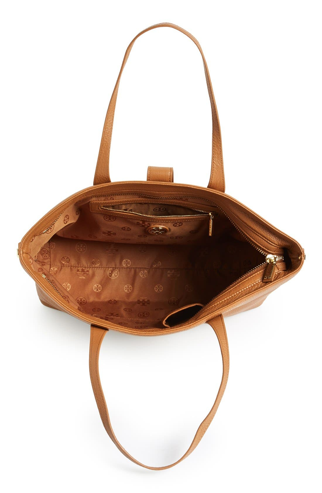 Alternate Image 3  - Tory Burch 'Plaque' Leather Tote