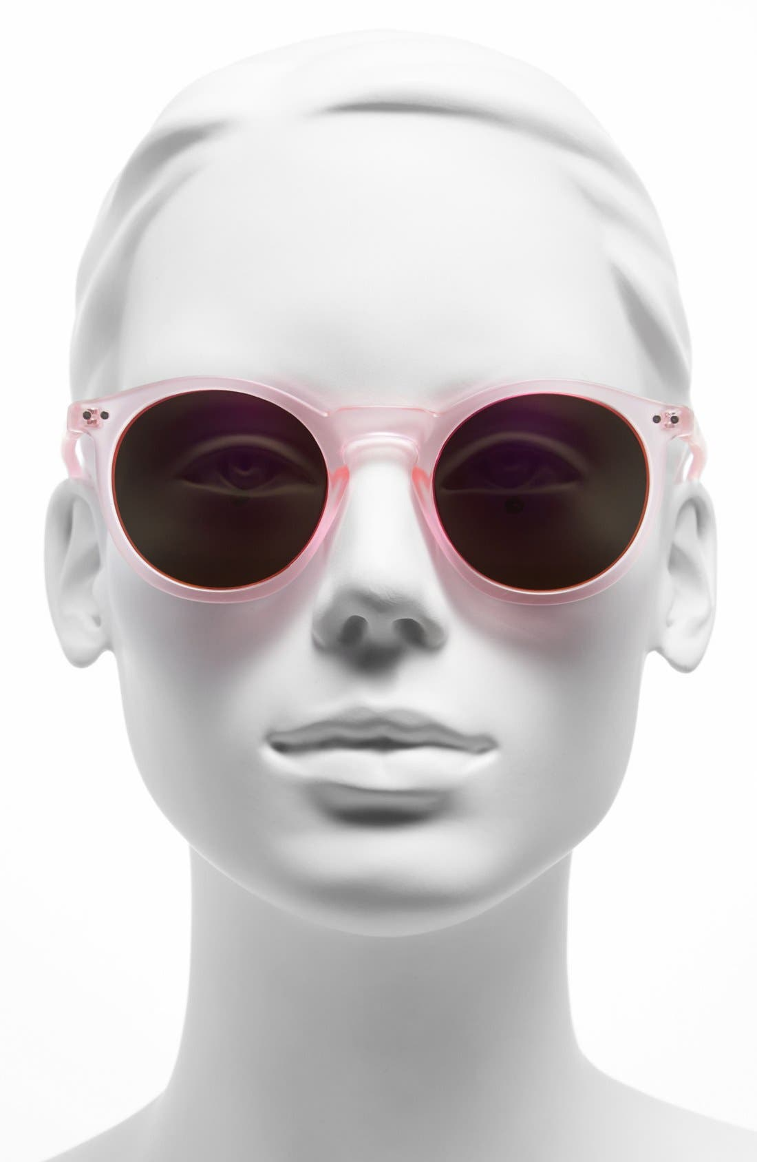 Alternate Image 2  - Steve Madden 49mm Round Sunglasses