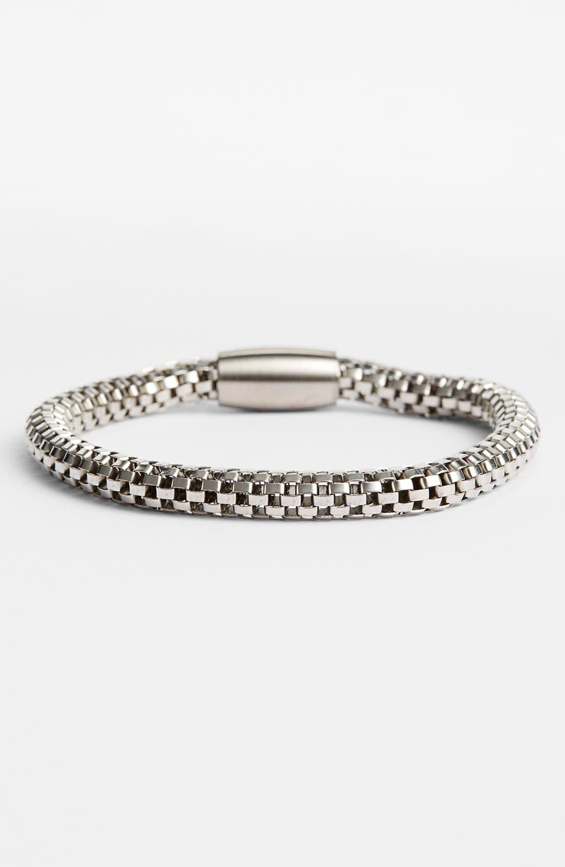 LINK UP Woven Chain Bracelet