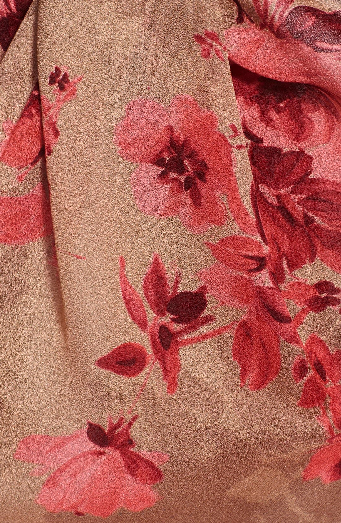 Alternate Image 2  - St. John Collection Bouquet Print Silk Georgette Scarf