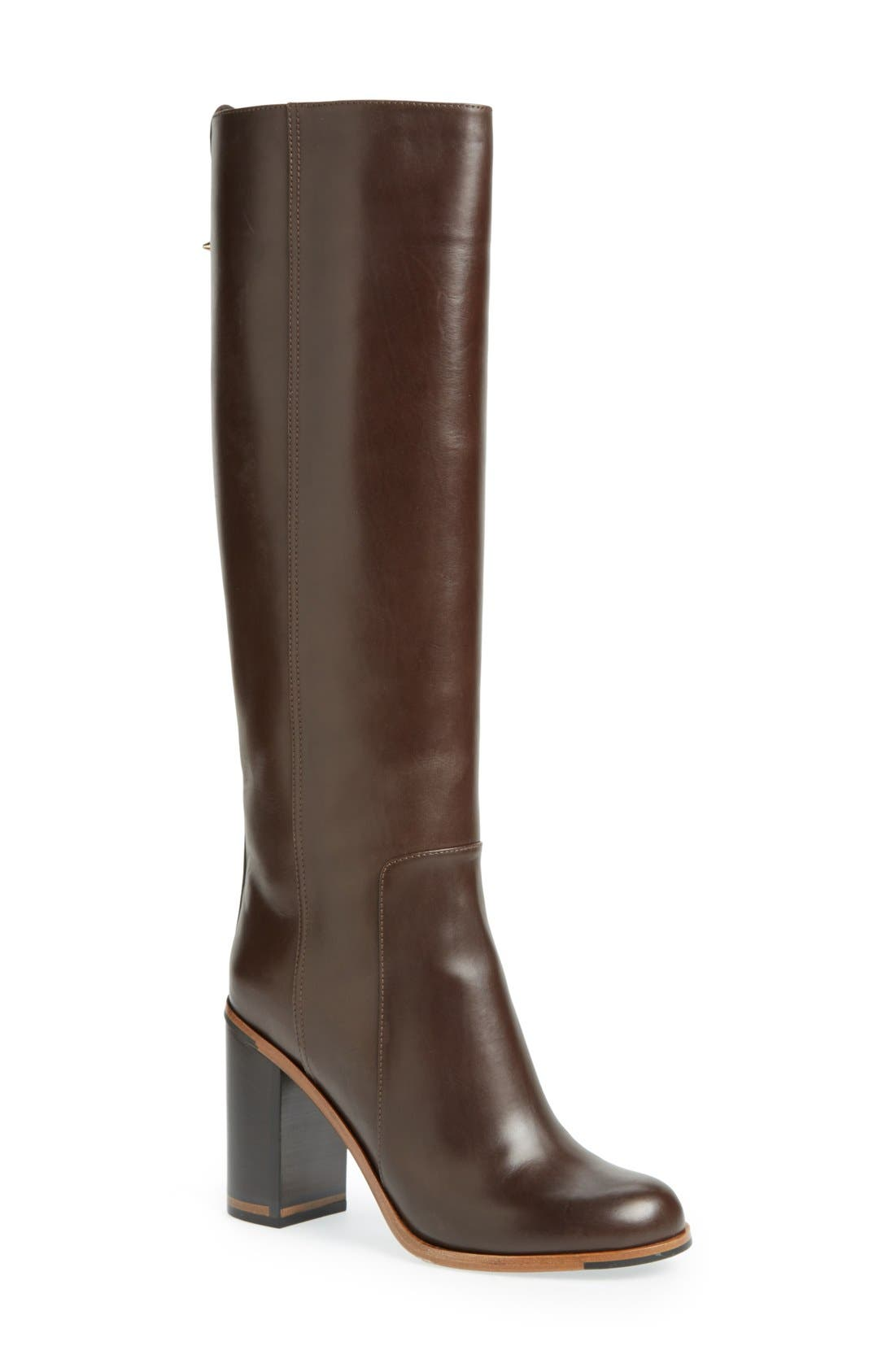 Alternate Image 1 Selected - Fendi 'Goldmine' Knee High Boot (Women)