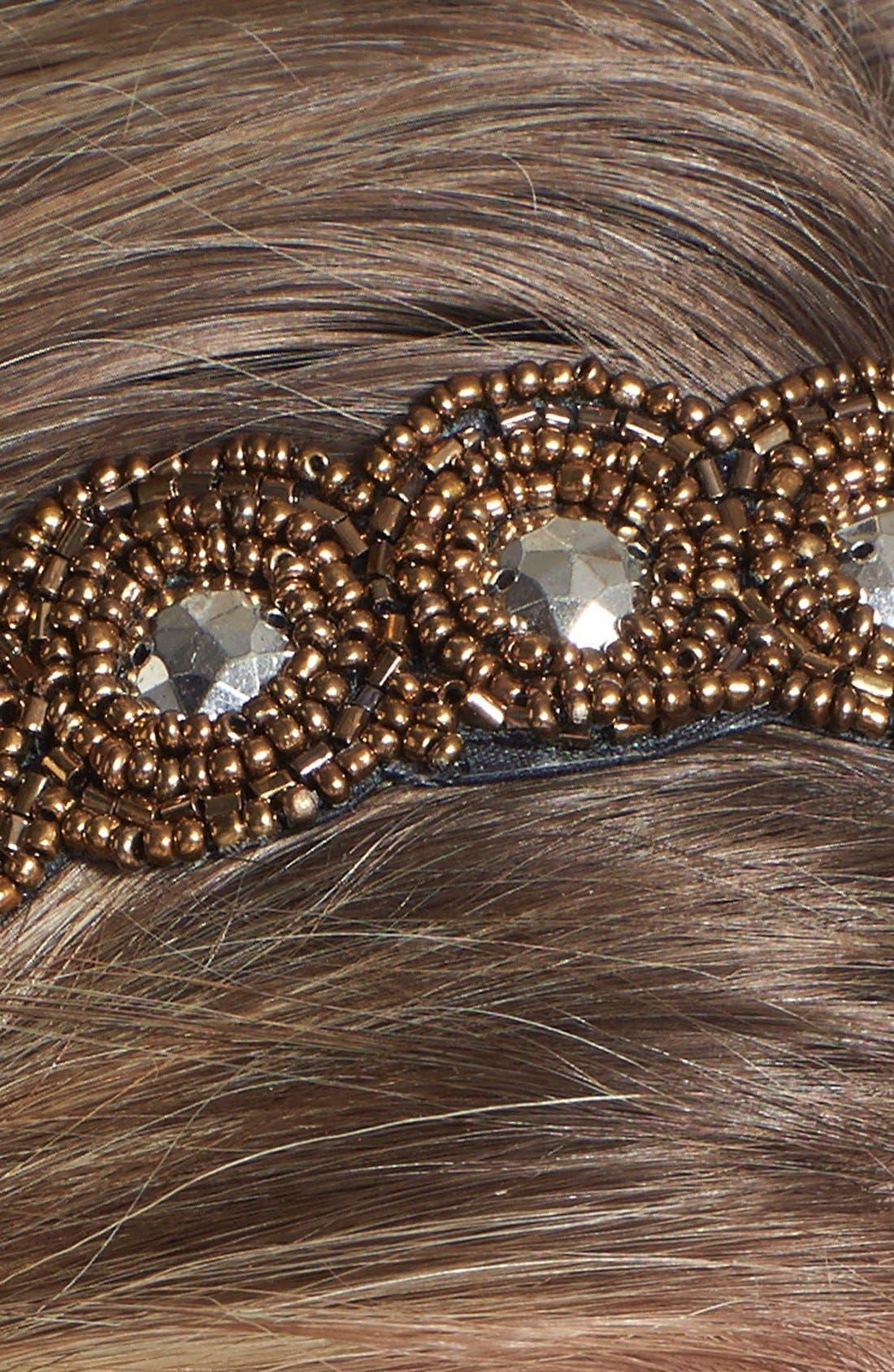 Alternate Image 2  - Tasha 'Beaded in Beauty' Head Wrap