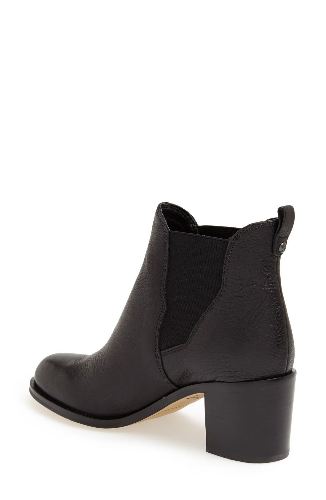 Alternate Image 2  - Sam Edelman 'Justin' Leather Bootie (Women)
