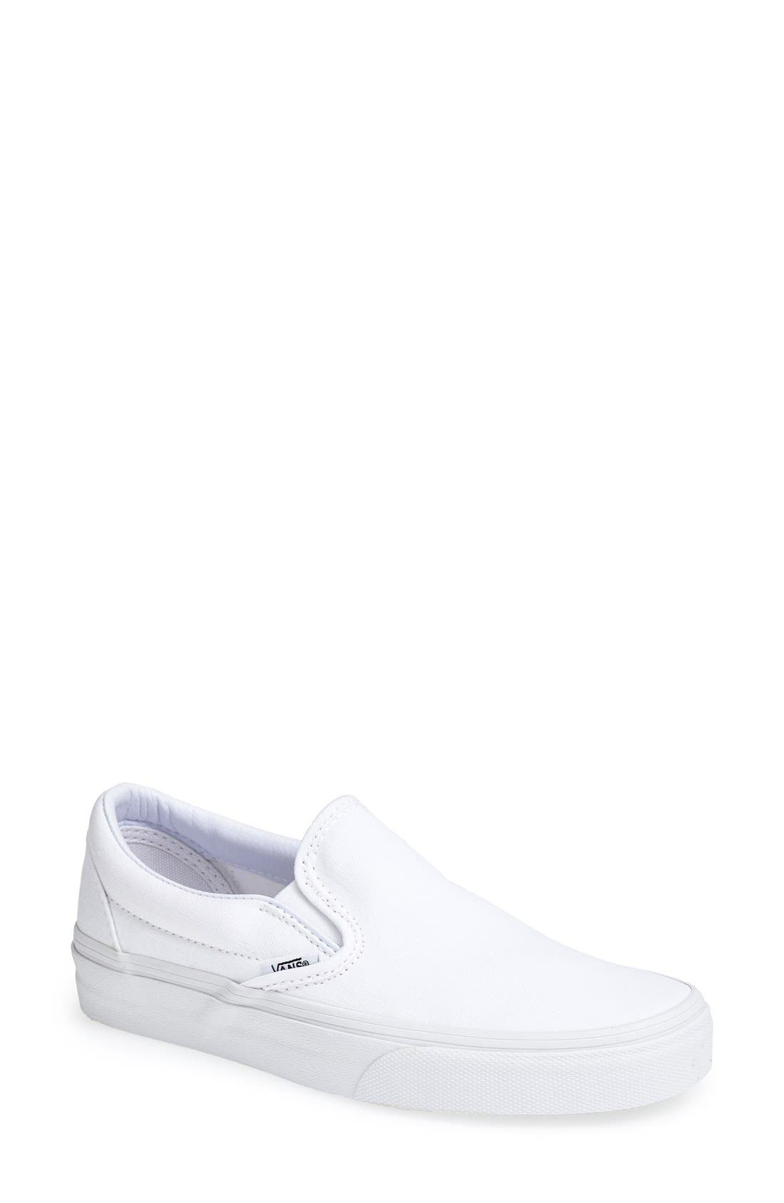 vans shoes for women white