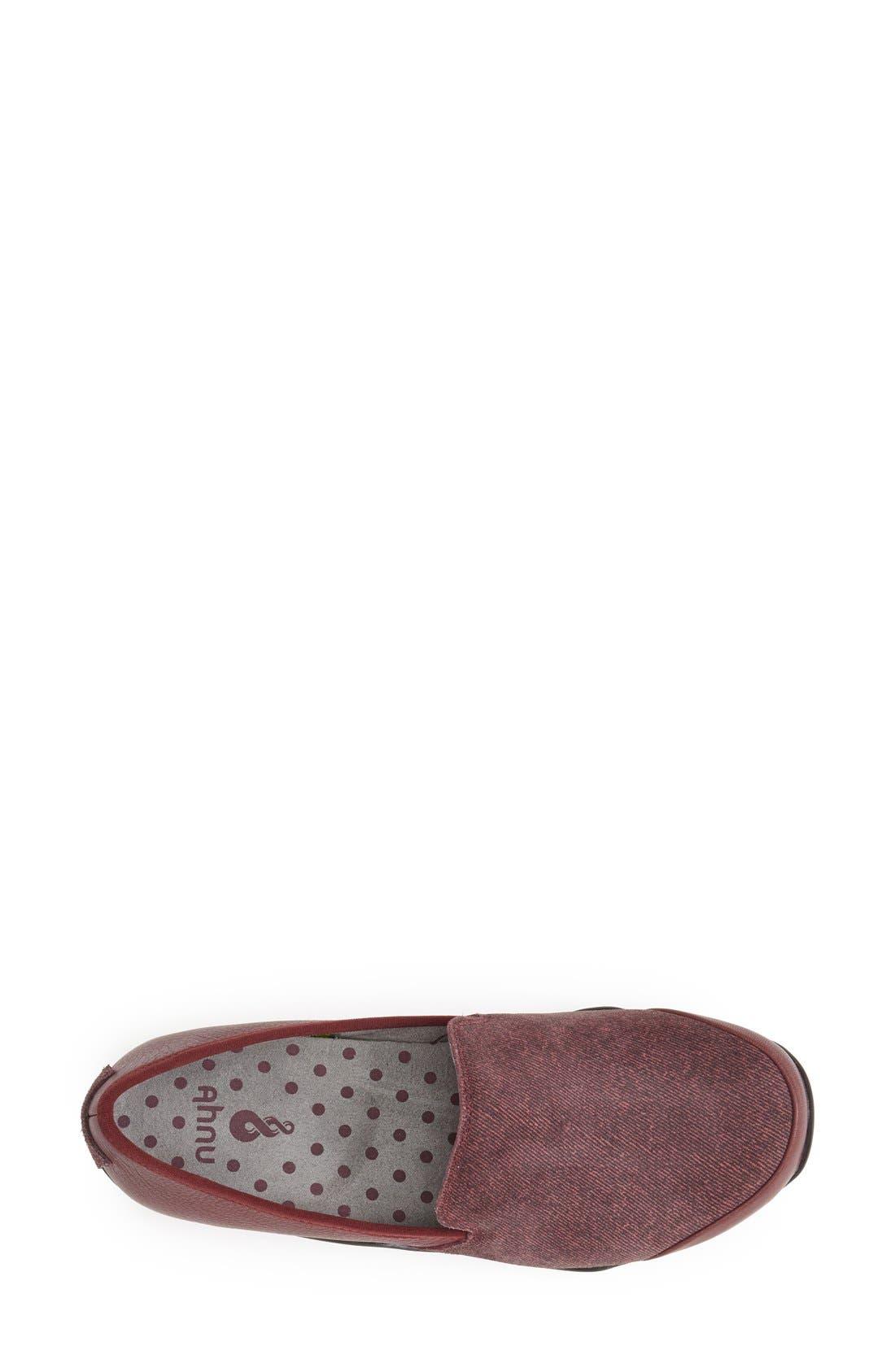 Alternate Image 3  - Ahnu 'Penny' Leather Loafer (Women)