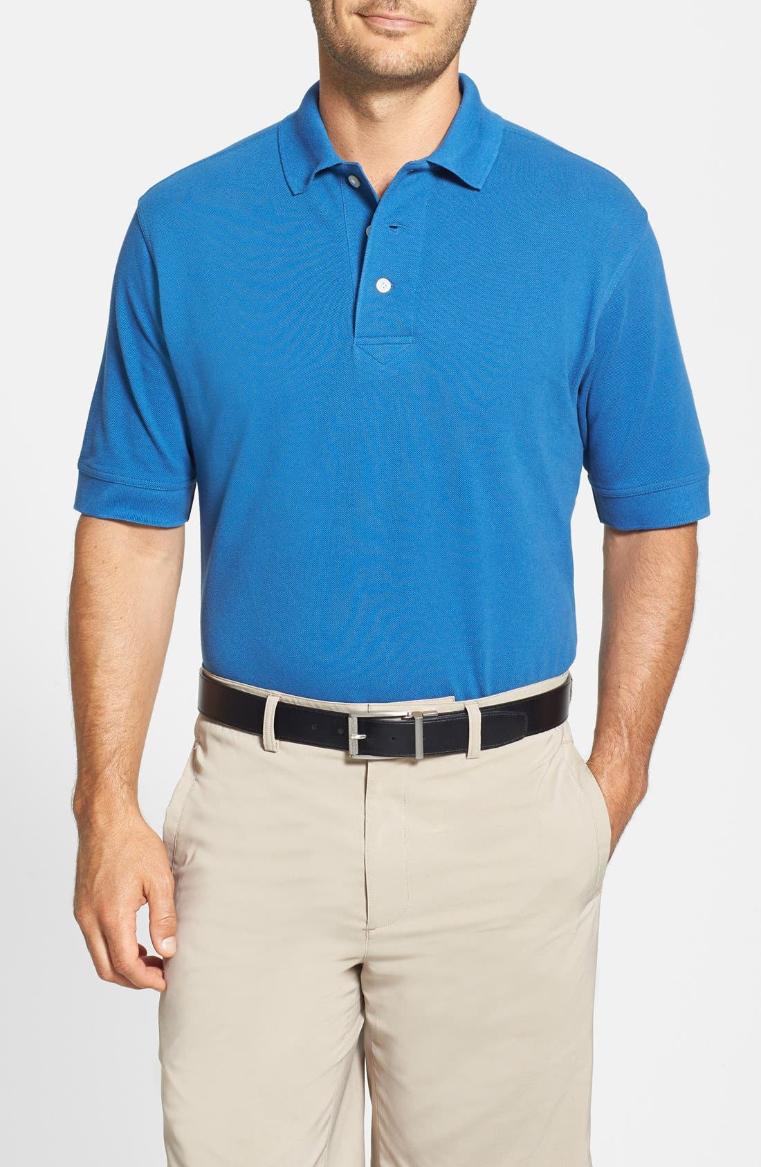 Alternate Image 1 Selected - Cutter & Buck 'Tournament' Piqué Golf Polo