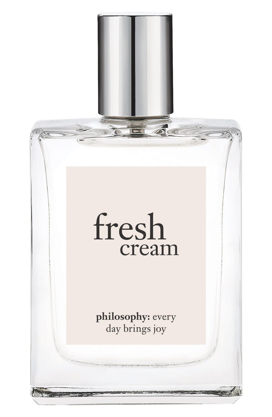 philosophy 'fresh cream' eau de toilette