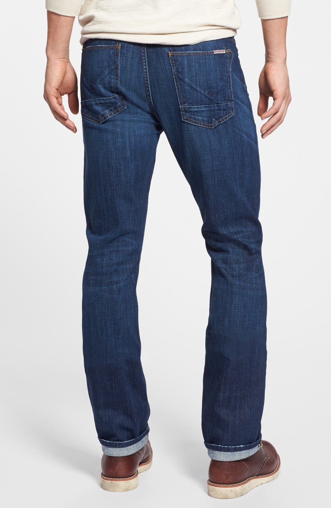 Alternate Image 2  - Hudson Jeans 'Byron' Slim Straight Leg Jeans (Blueprint)