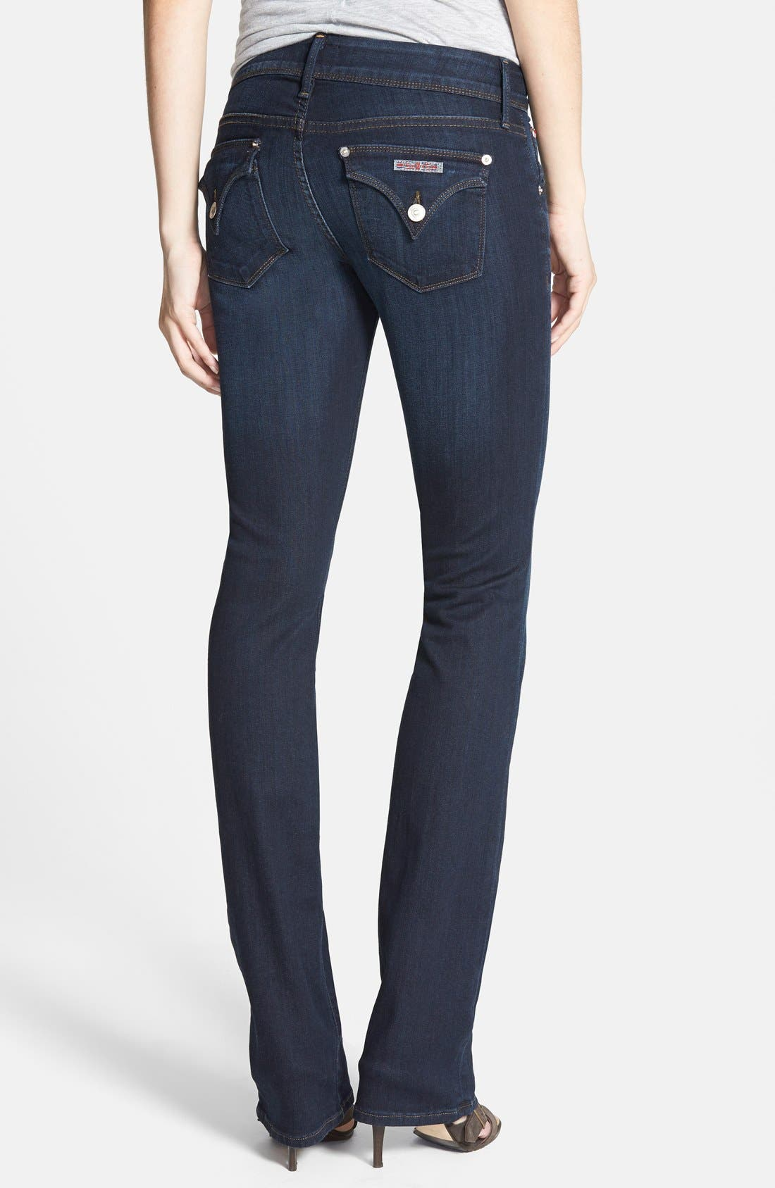Alternate Image 2  - Hudson Jeans 'Beth' Baby Bootcut Jeans (London Calling)