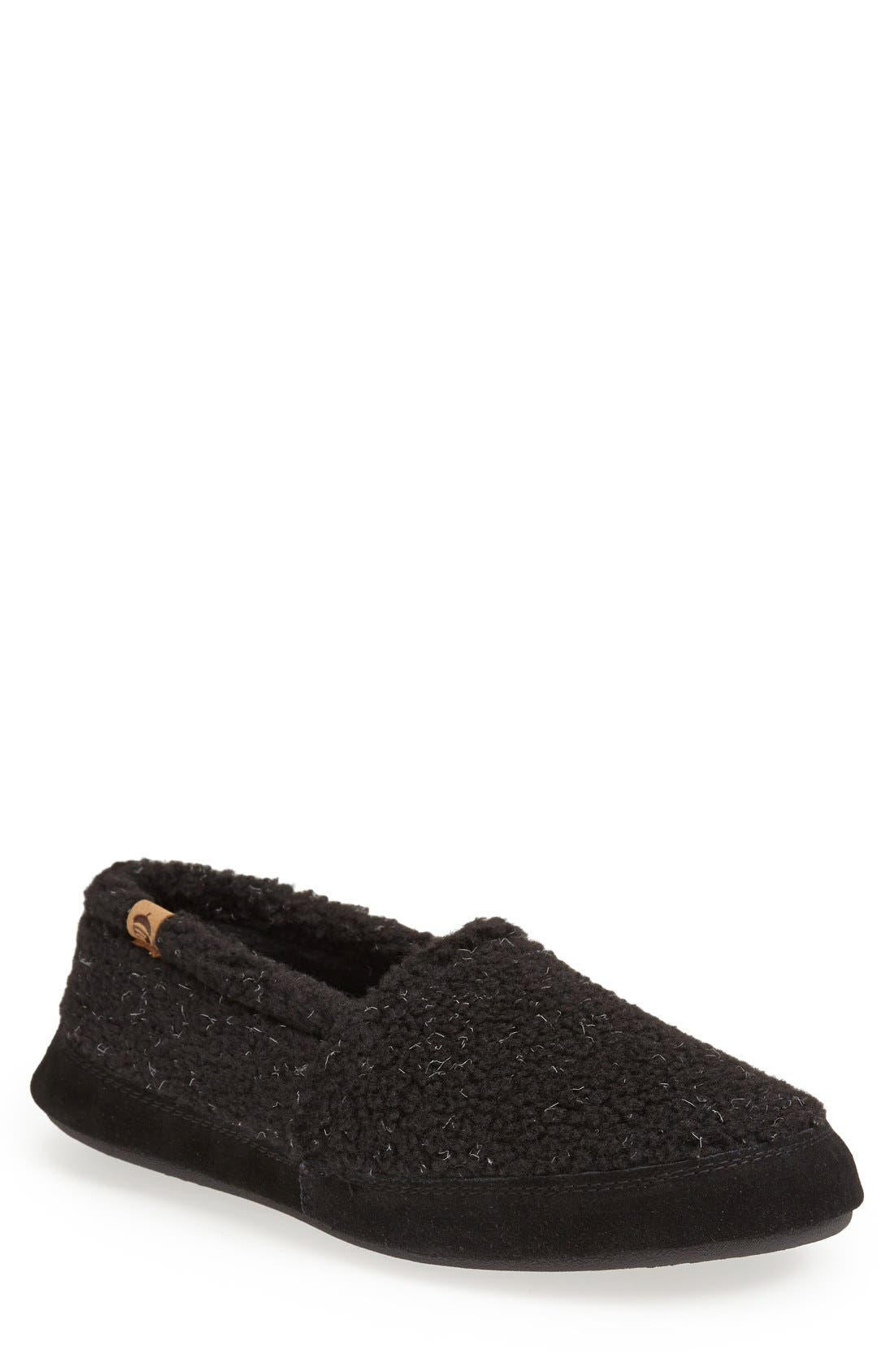 ACORN Moc Slipper in Dark Charcoal