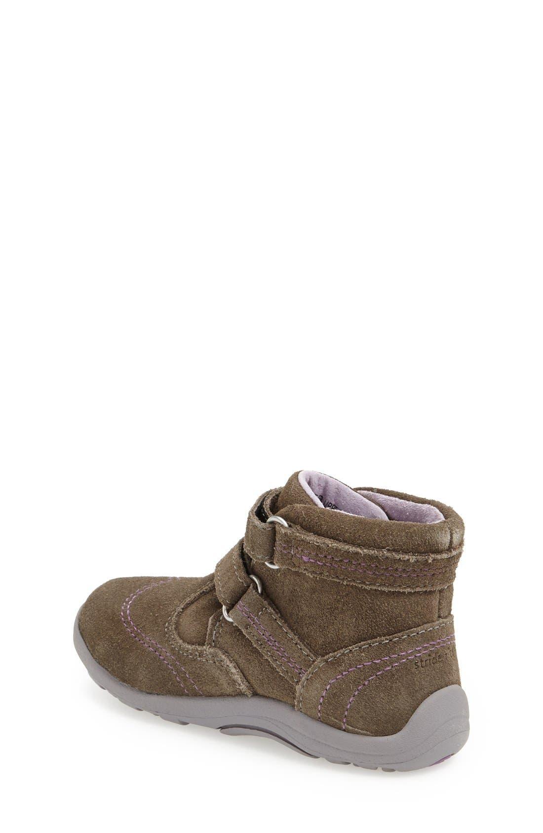 Alternate Image 2  - Stride Rite 'SRT Gisella' Boot (Baby & Walker)