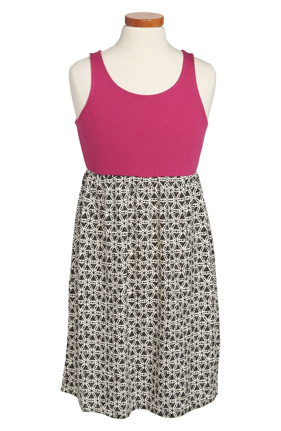 Main Image - Roxy 'Beaming Shadow' Sleeveless Dress (Big Girls)