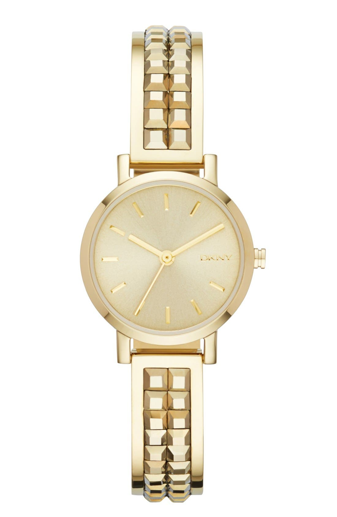 Main Image - DKNY 'Soho' Round Bangle Watch, 24mm