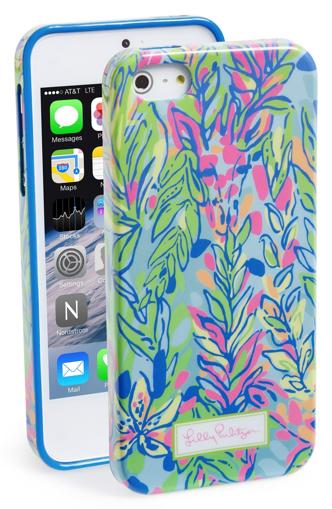 lilly pulitzer iphone 5 case lilly pulitzer 174 the spot iphone 5 amp 5s nordstrom 17780