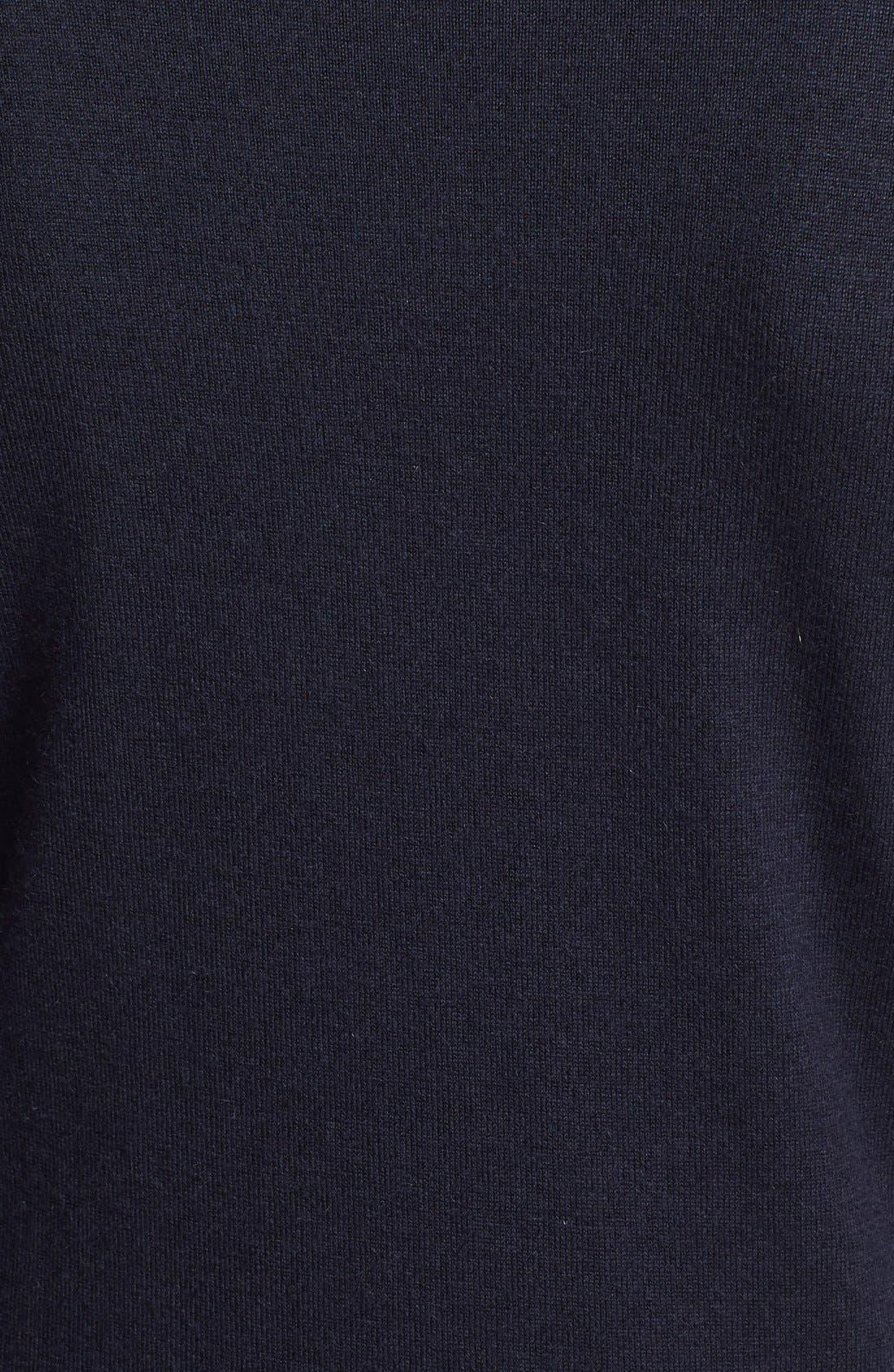 Alternate Image 3  - Theory 'Perfect' Cashmere Blend Crewneck Sweater
