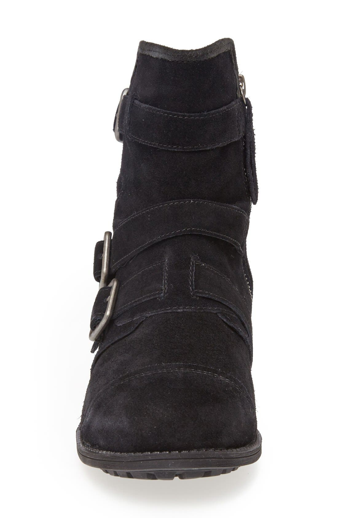 Alternate Image 3  - UGG® Australia 'Finney' Suede Moto Boot (Women)