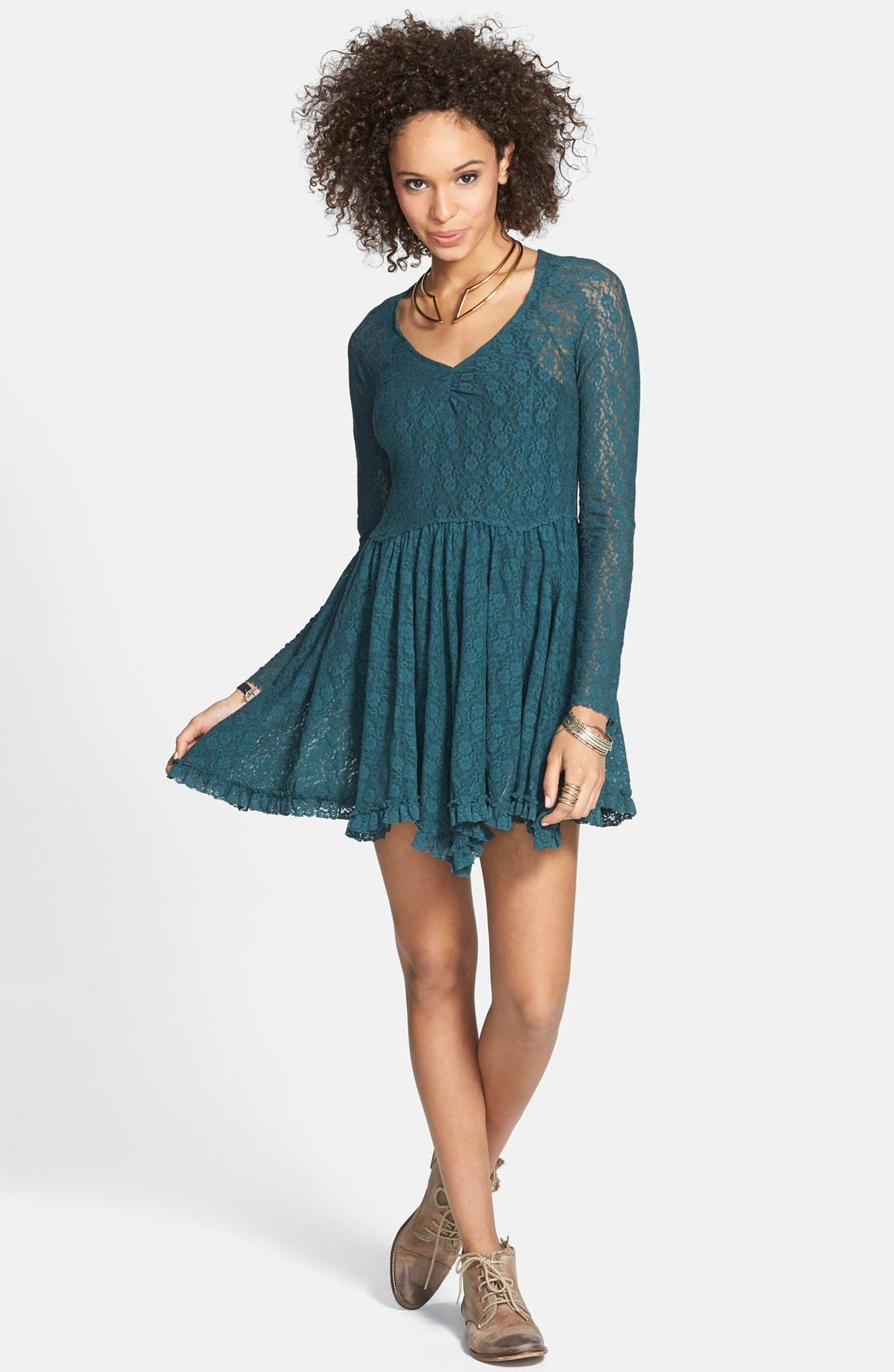 Alternate Image 1 Selected - Free People 'Witchy' Skater Dress