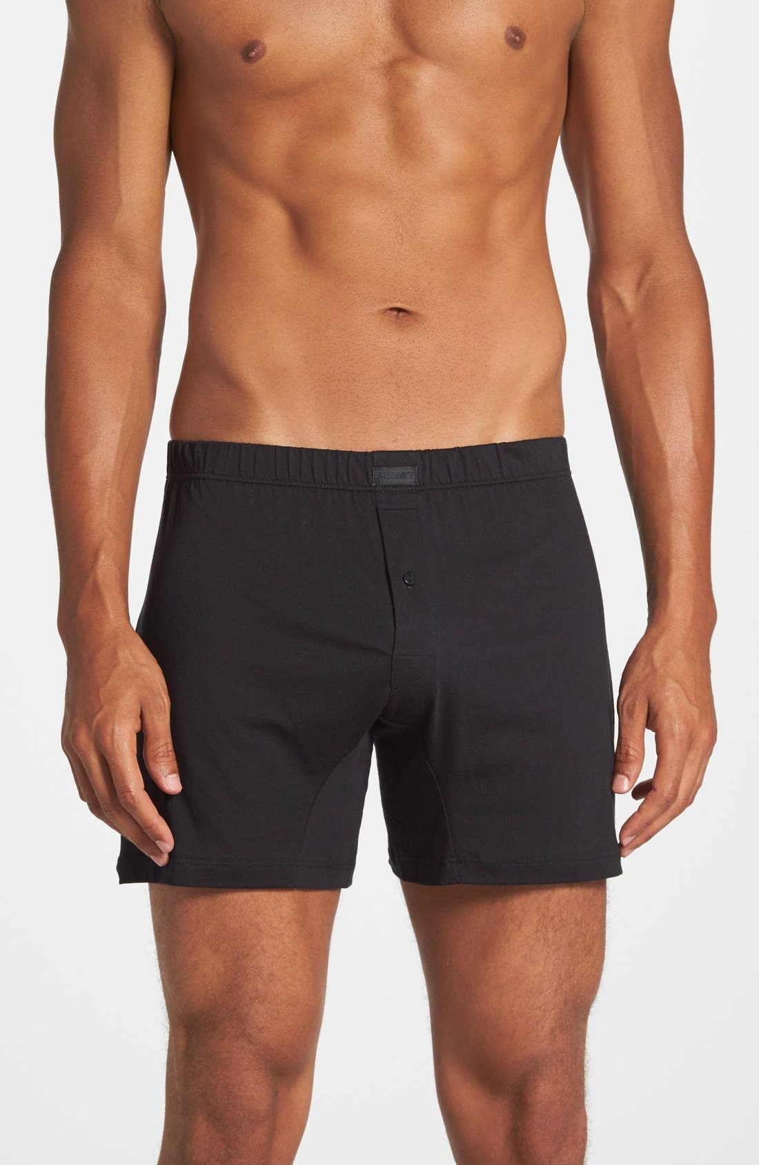 2(x)ist Pima Cotton Knit Boxers