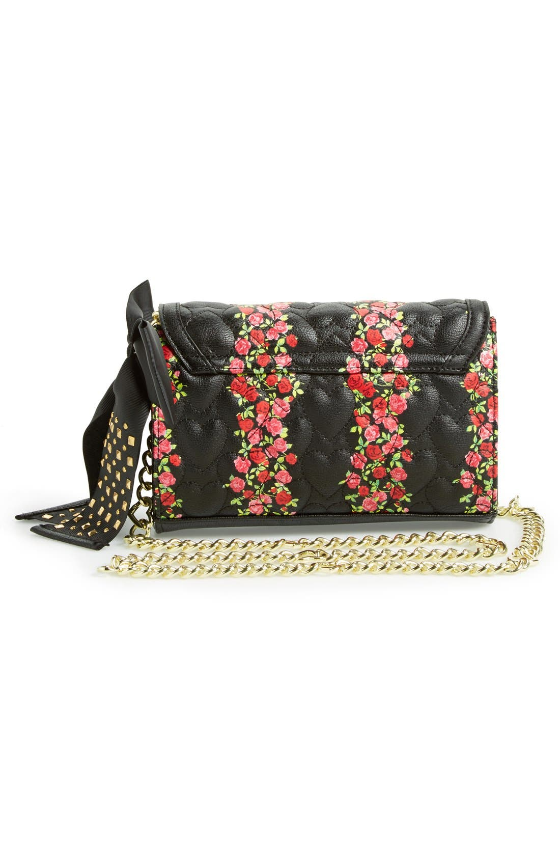 Alternate Image 4  - Betsey Johnson 'Be My Sweetheart' Crossbody Bag