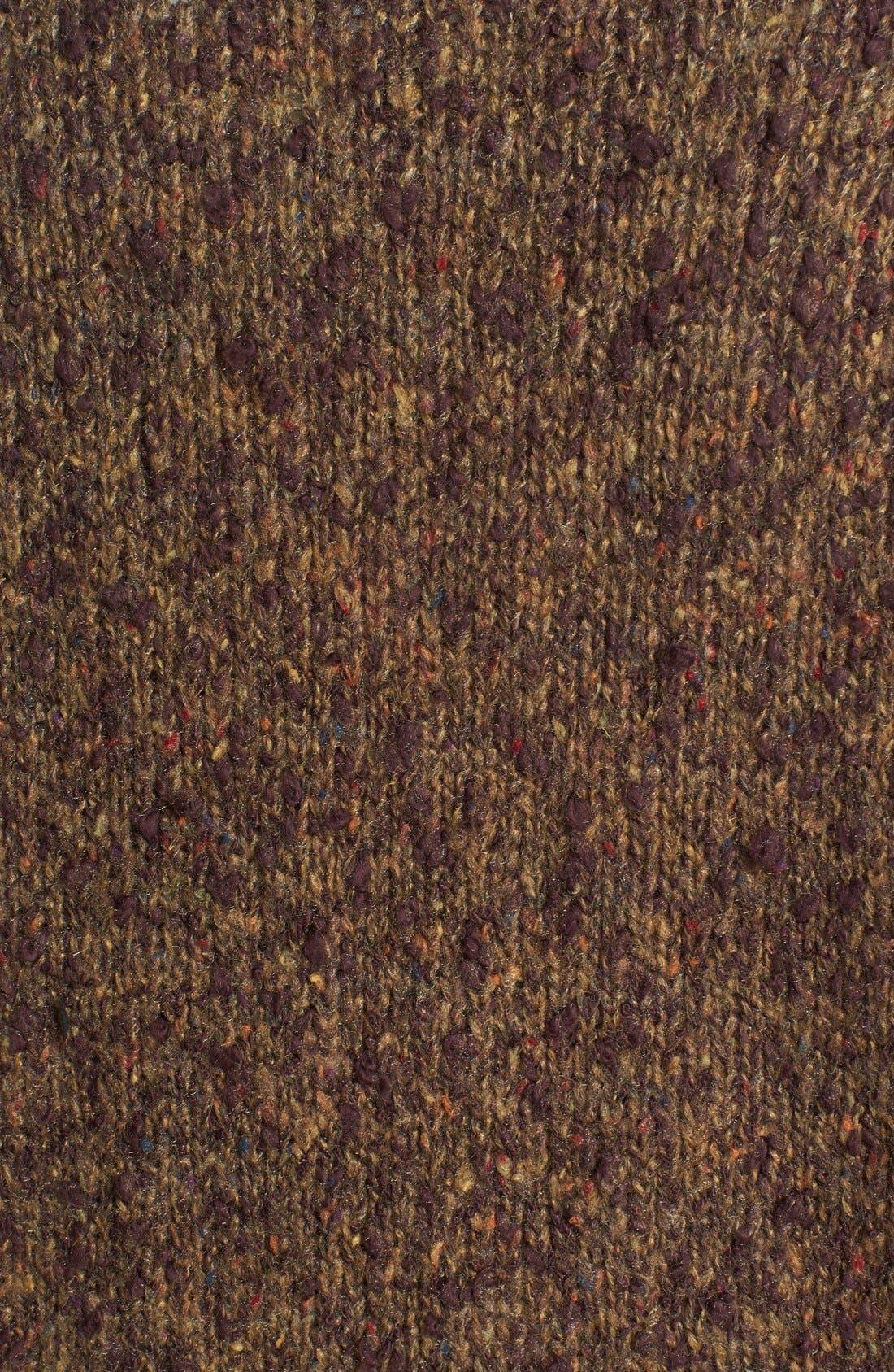 Alternate Image 3  - kensie Tweed Bouclé Cardigan