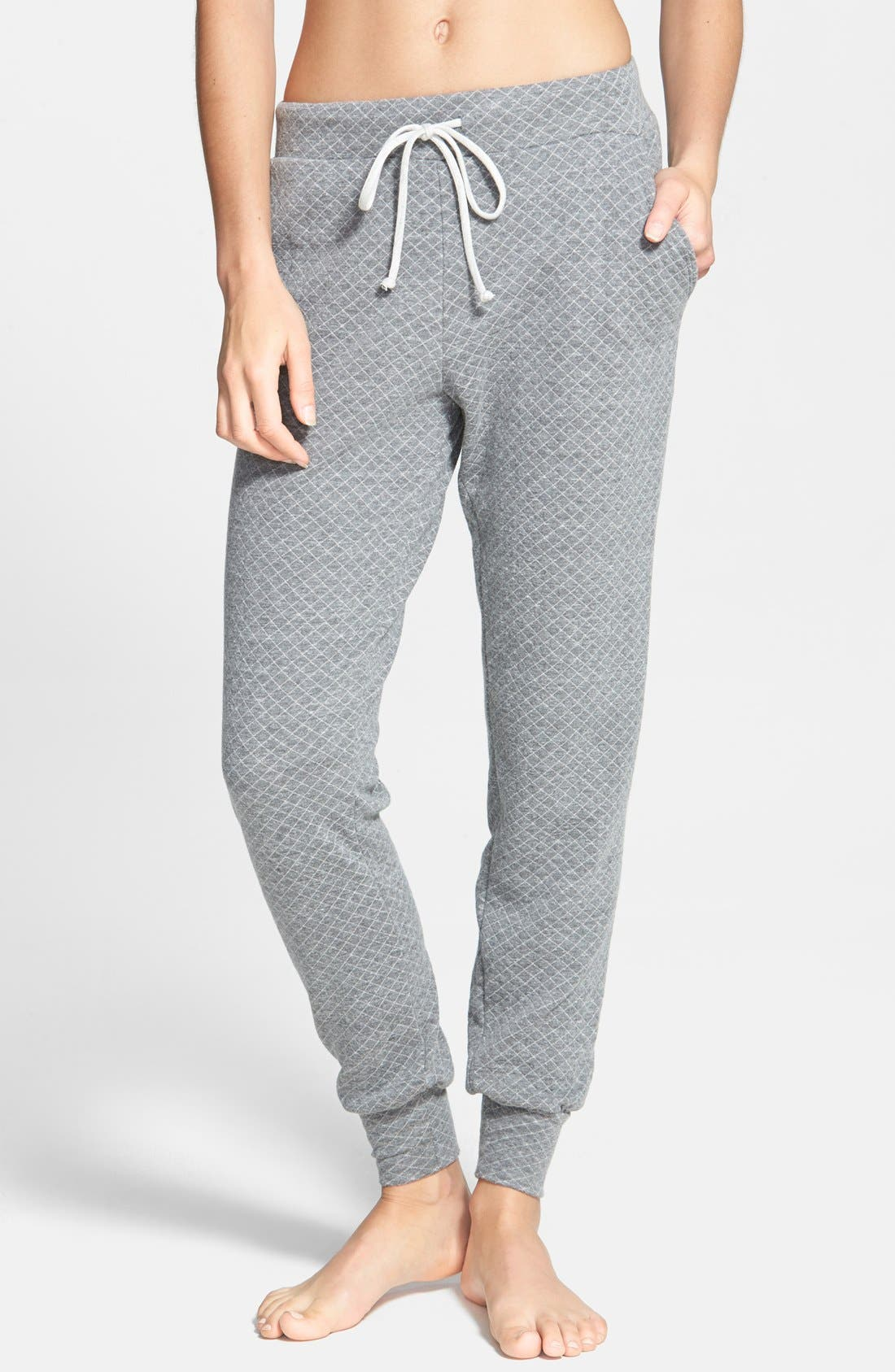 Alternate Image 1 Selected - Beyond Yoga Quilted Sweatpants