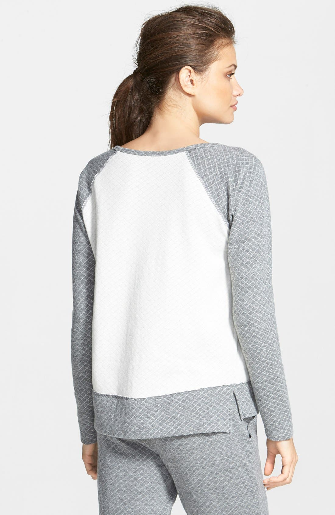 Alternate Image 2  - Beyond Yoga Quilted Sweatshirt