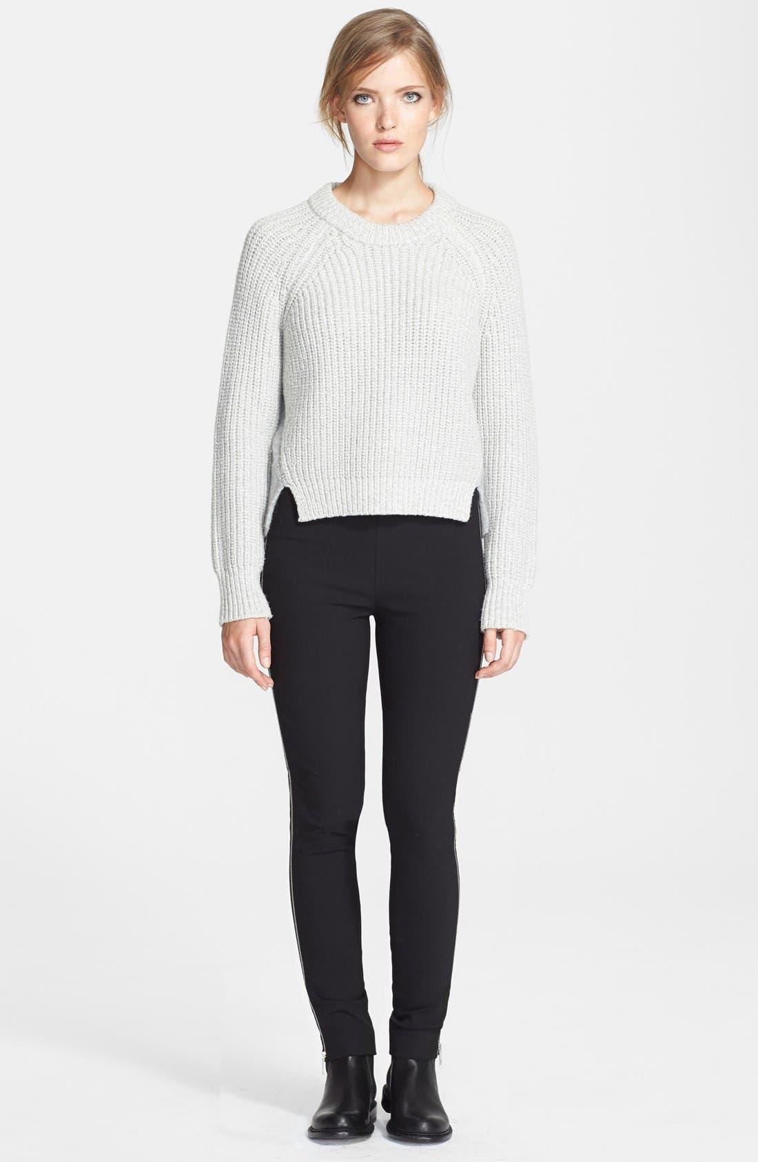 Alternate Image 4  - rag & bone 'Chatel' Side Zip Pants