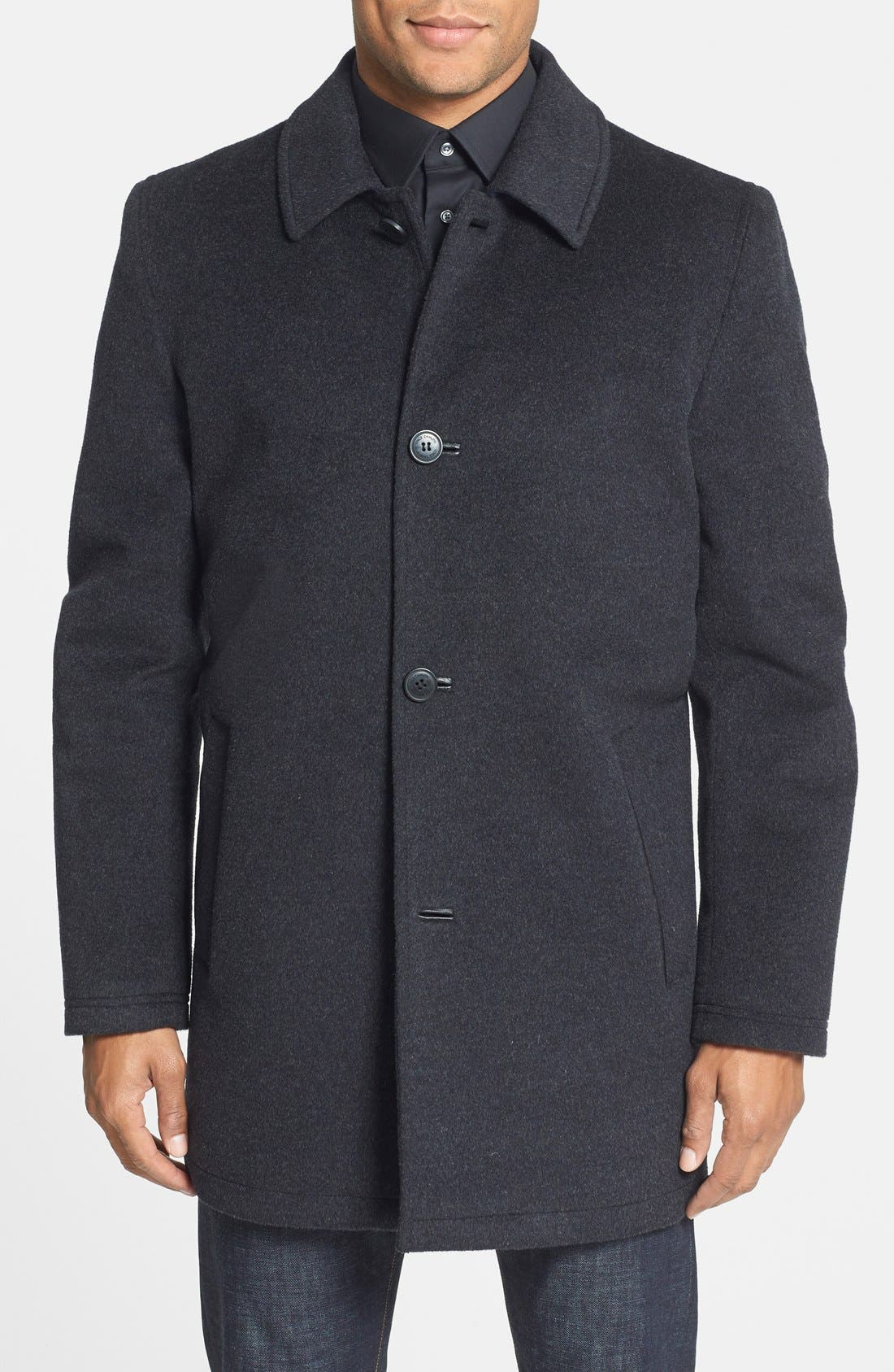 Vince Camuto Water Repellent Wool Blend Car Coat | Nordstrom