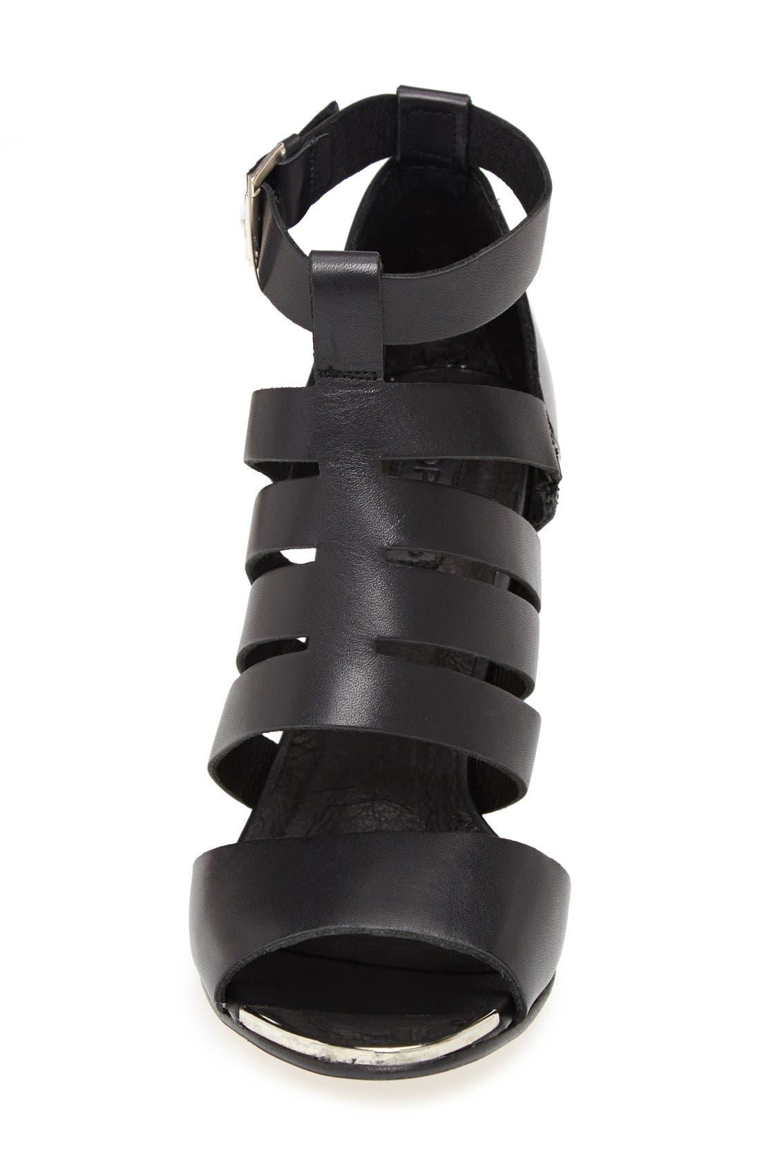 Alternate Image 3  - Topshop 'Glare' Cutout Gladiator Sandal (Women)