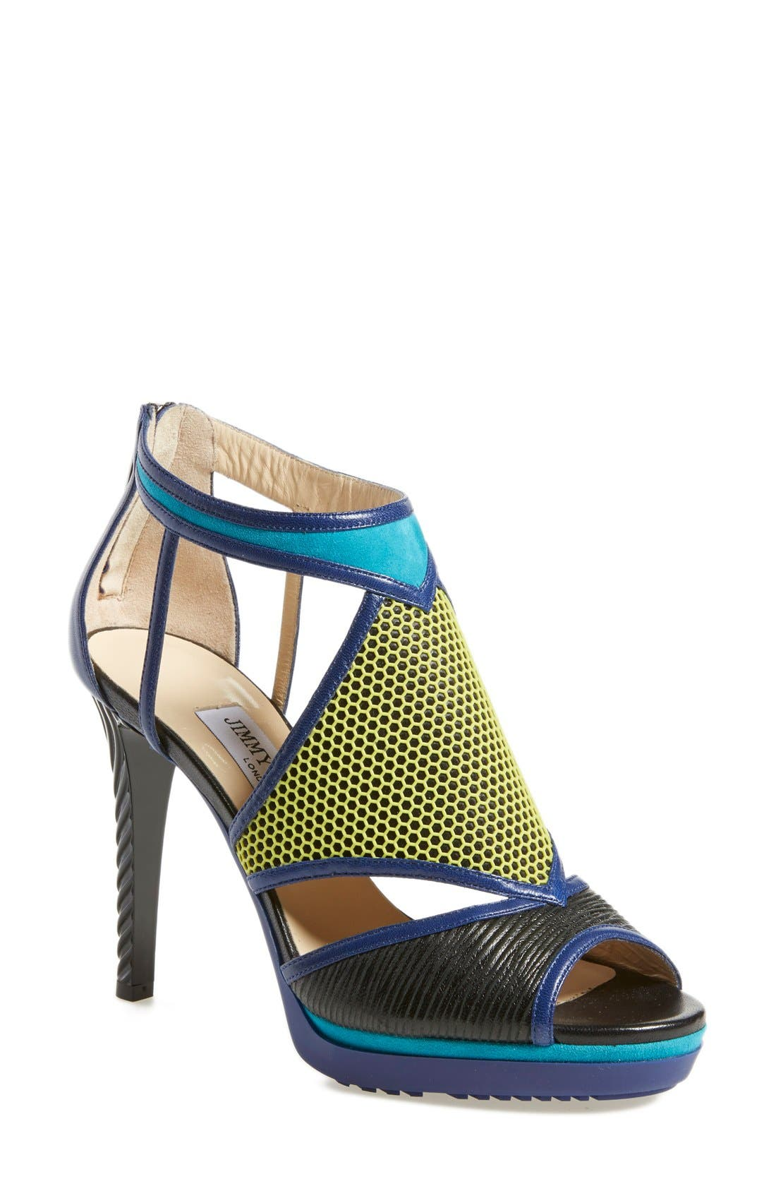 Main Image - Jimmy Choo 'Lythe' Honeycomb Sandal (Women)