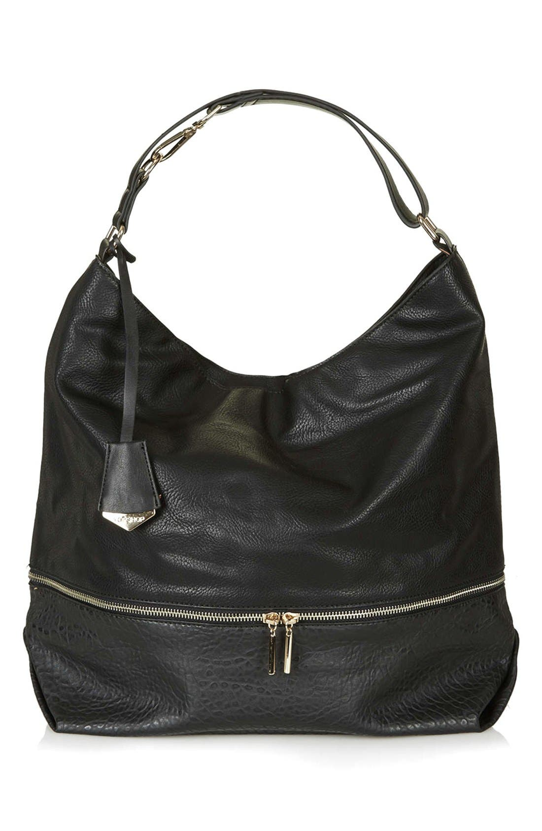 Alternate Image 1 Selected - Topshop Slouchy Hobo Bag