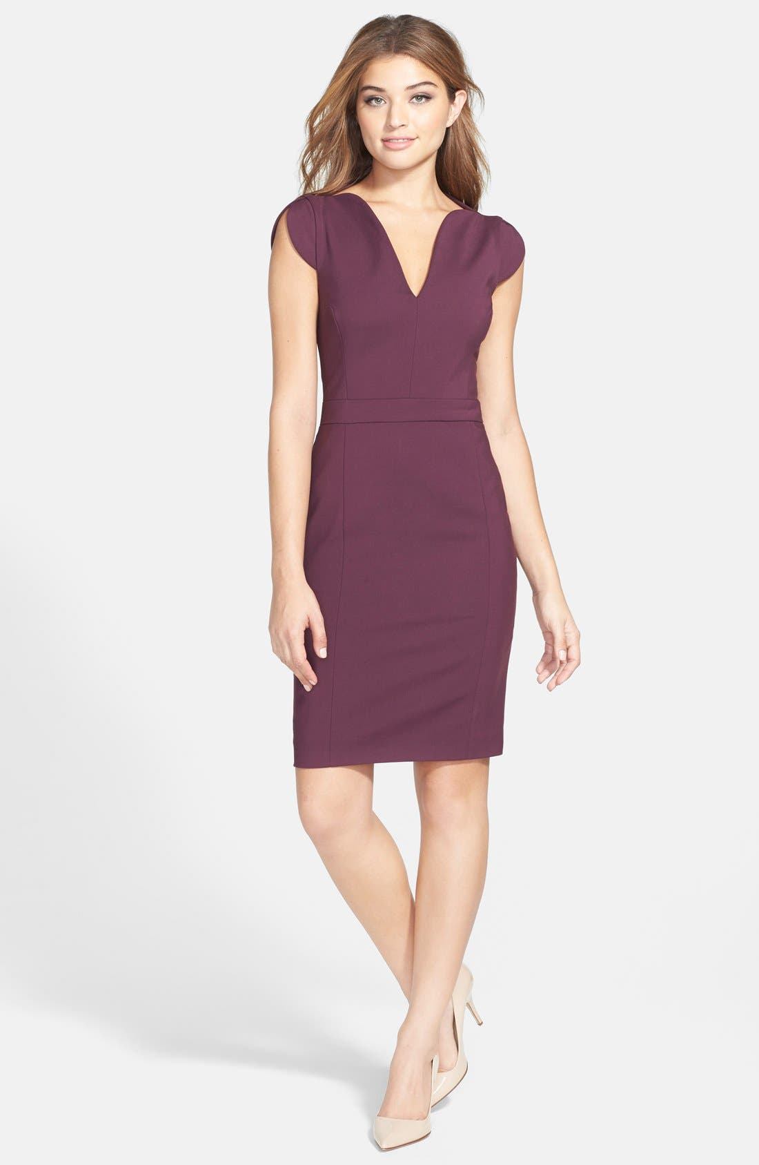 Alternate Image 3  - French Connection 'Lolo' Stretch Sheath Dress