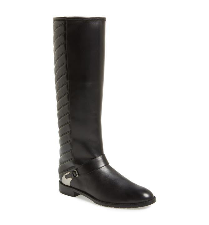 Stuart Weitzman 'Raceway' Quilted Shaft Riding Boot (Women ... : stuart weitzman quilted boots - Adamdwight.com