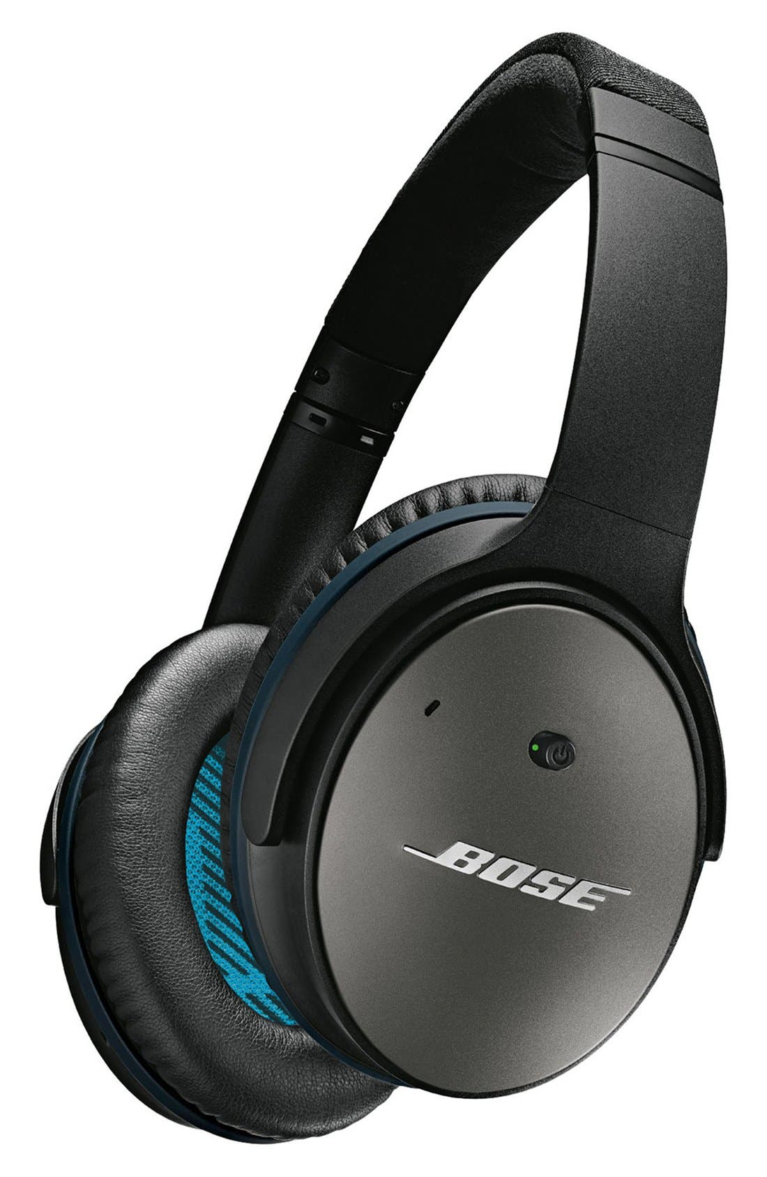 QuietComfort<sup>®</sup> 25 Acoustic Noise Cancelling<sup>®</sup> iOS Headphones,                         Main,                         color, Black