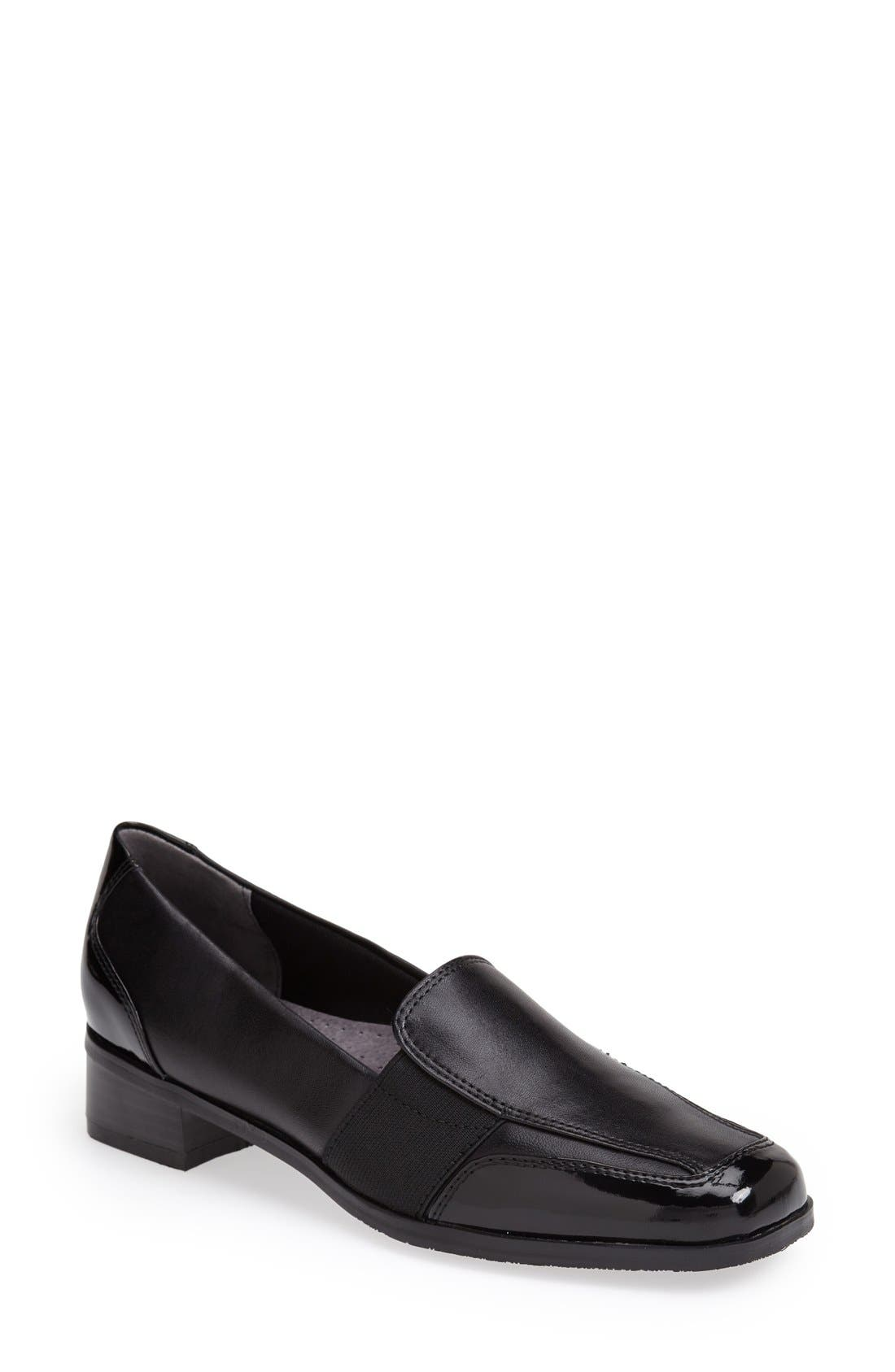 'Arianna' Loafer,                         Main,                         color, Black