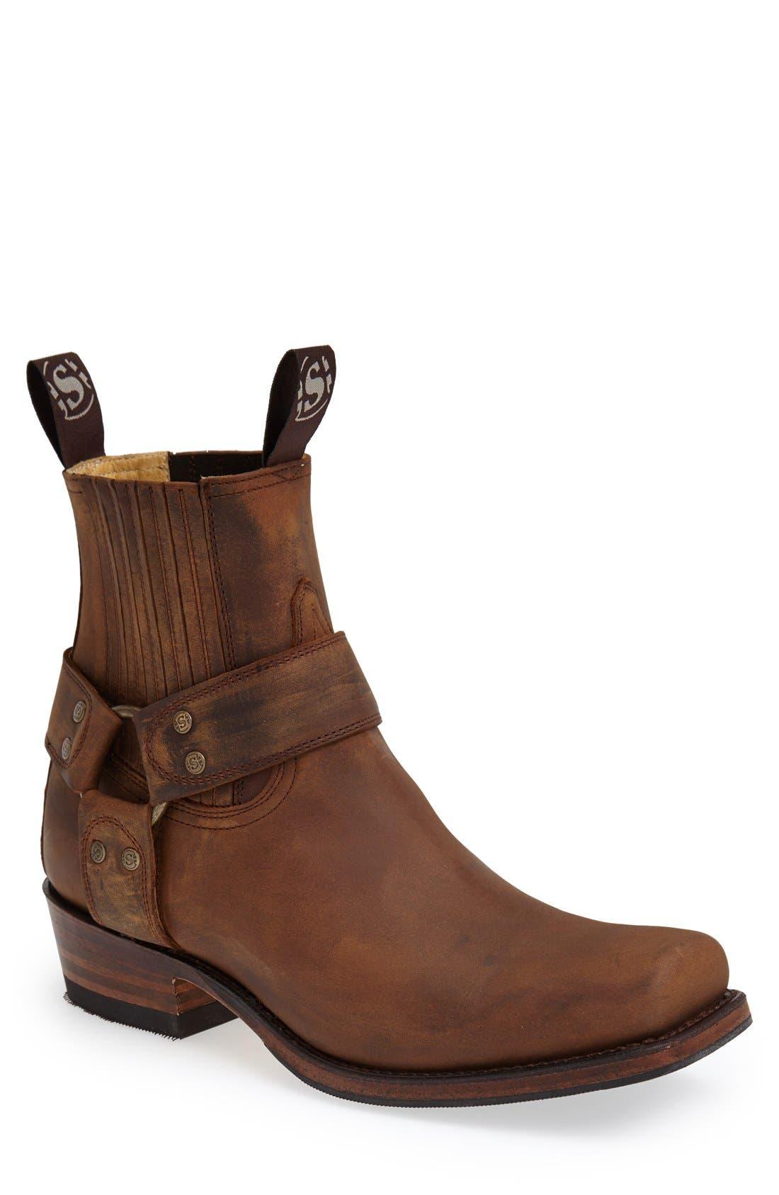 Harness Boot,                         Main,                         color, Tan