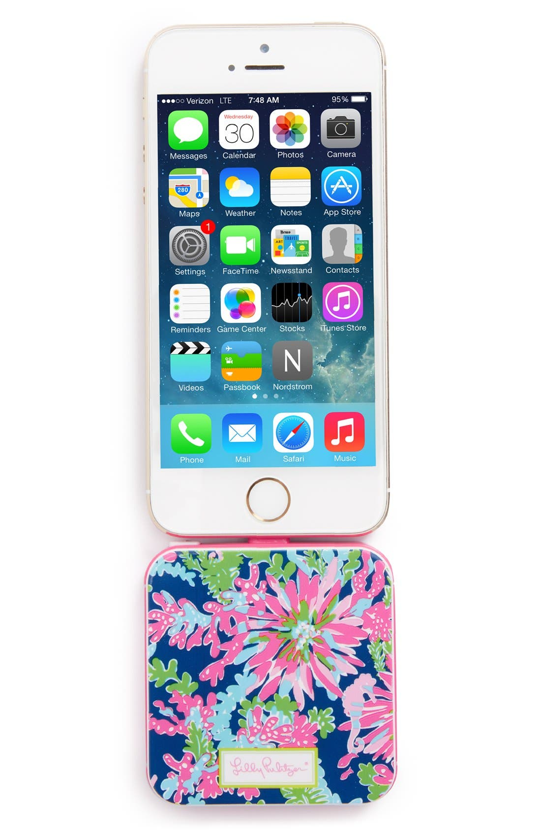 Alternate Image 2  - Lilly Pulitzer® 'Trippin & Sippin' iPhone 5s, 5c & 5 Charger