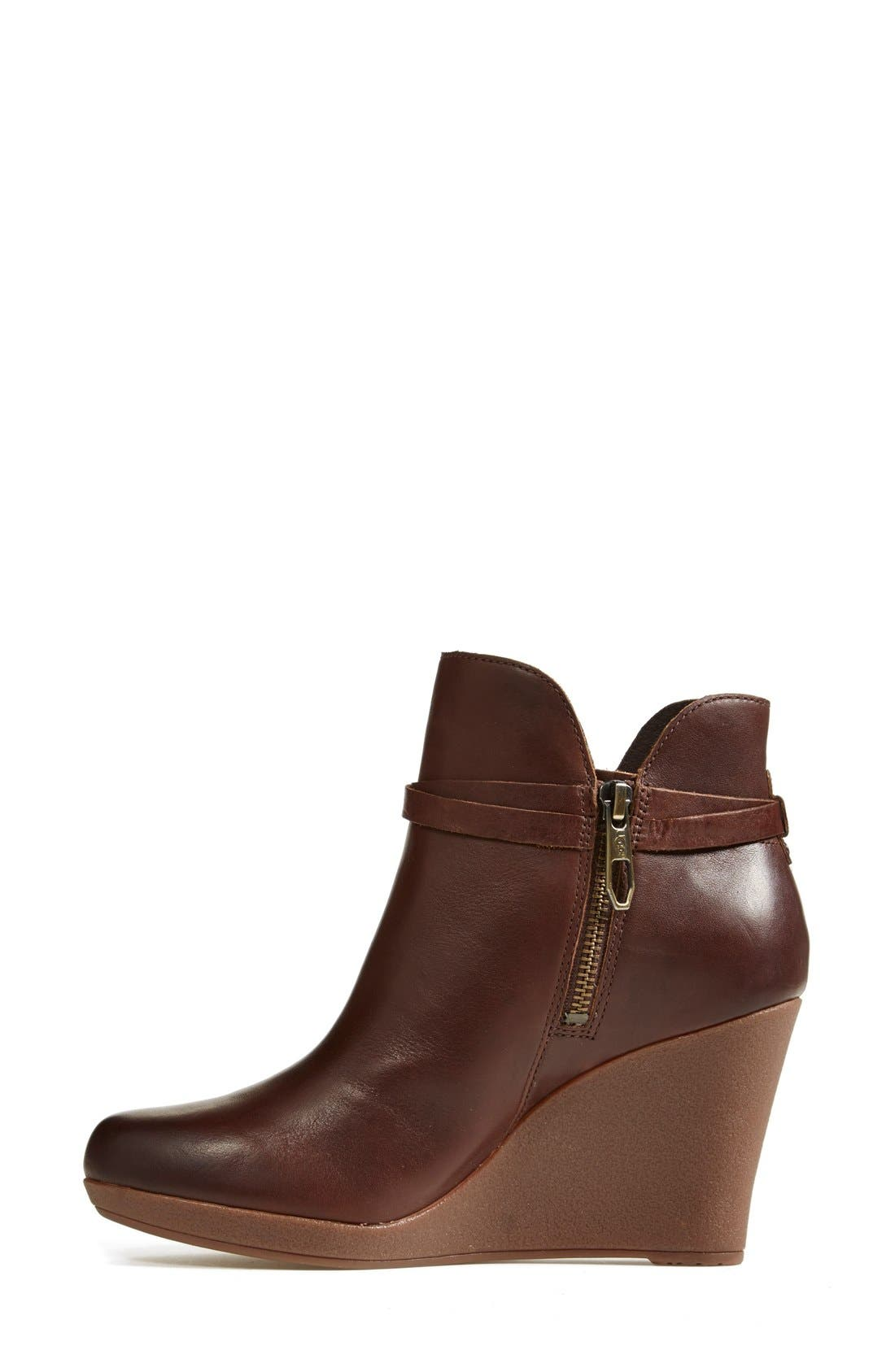 Alternate Image 6  - UGG® Australia 'Alexandra' Water Resistant Wedge Bootie (Women)