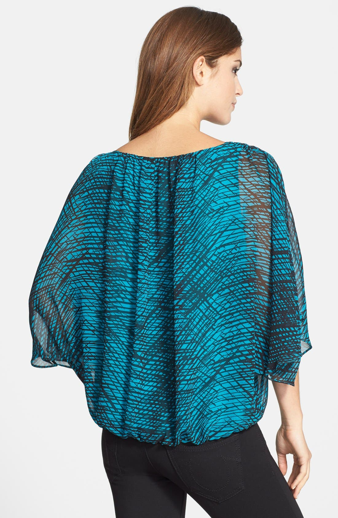 Alternate Image 2  - Vince Camuto 'Twilight Thatches' Print Batwing Blouse
