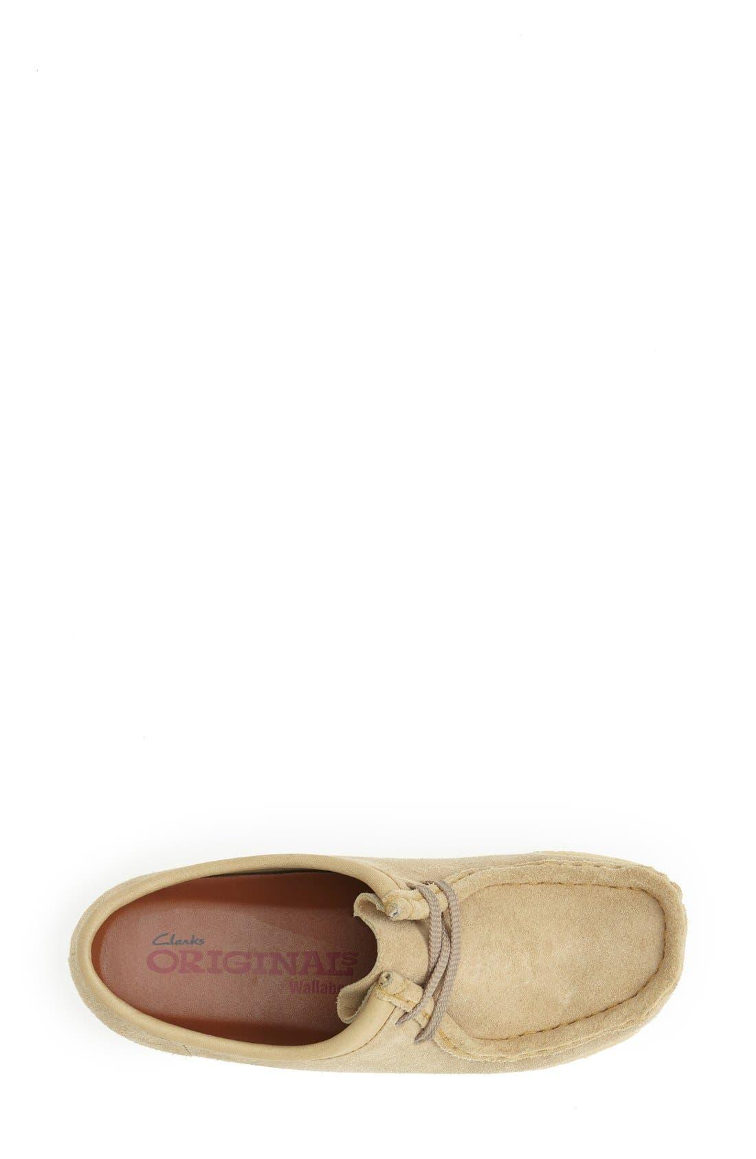 Alternate Image 3  - Clarks® Originals 'Wallabee' Suede Loafer (Women)