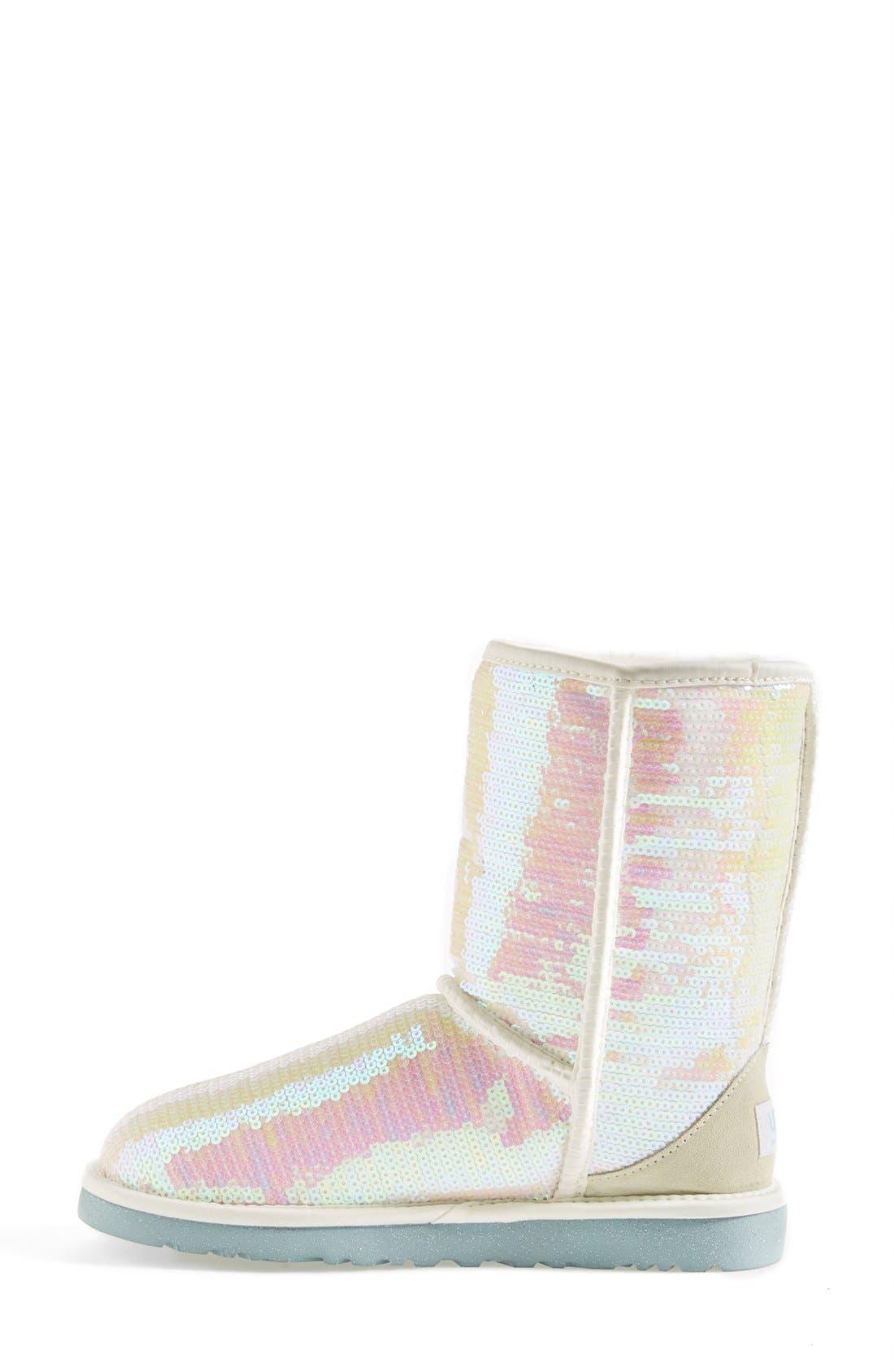 Alternate Image 6  - UGG® Australia 'Classic Short Sparkles - I Do' Boot (Women)