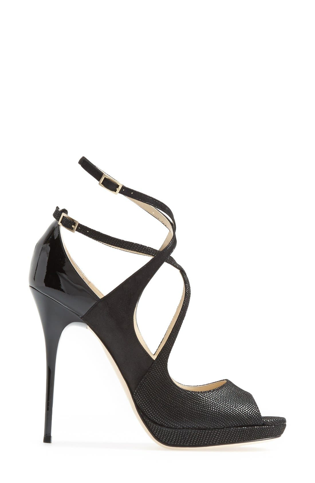 Alternate Image 4  - Jimmy Choo 'Atlas' Platform Sandal (Women)