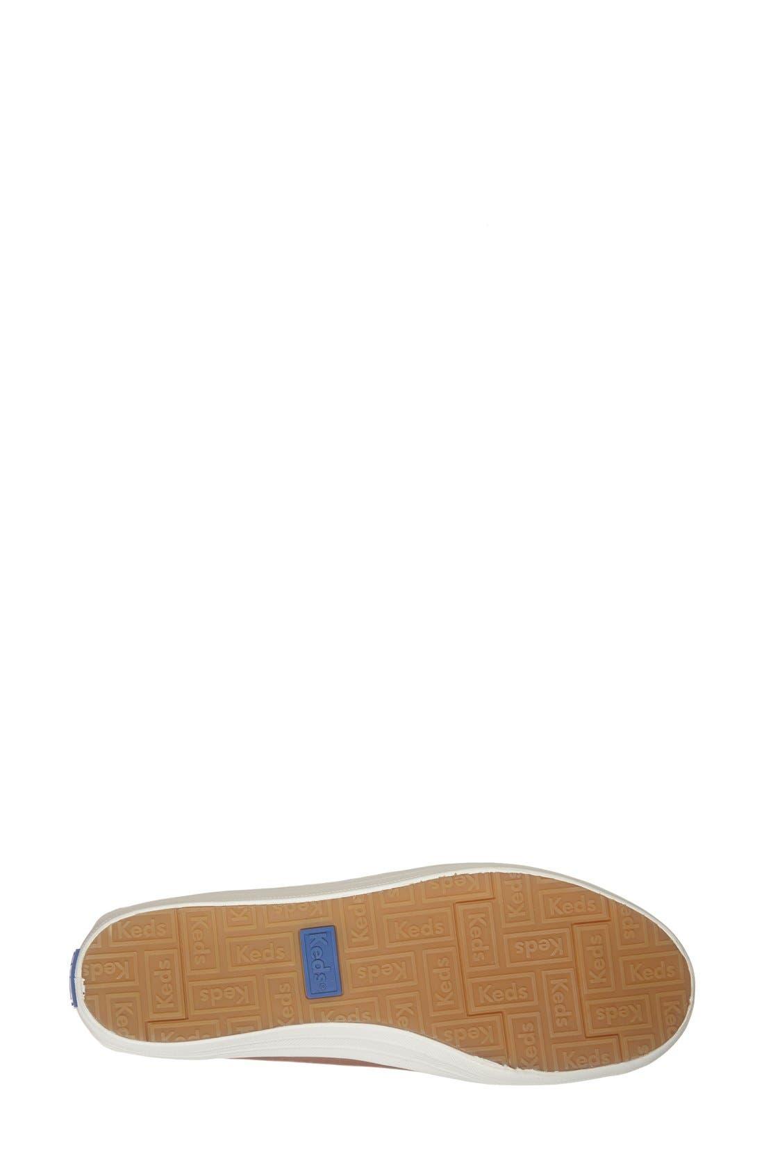 Alternate Image 4  - Keds® 'Crashback' Leather Slip-On (Women)
