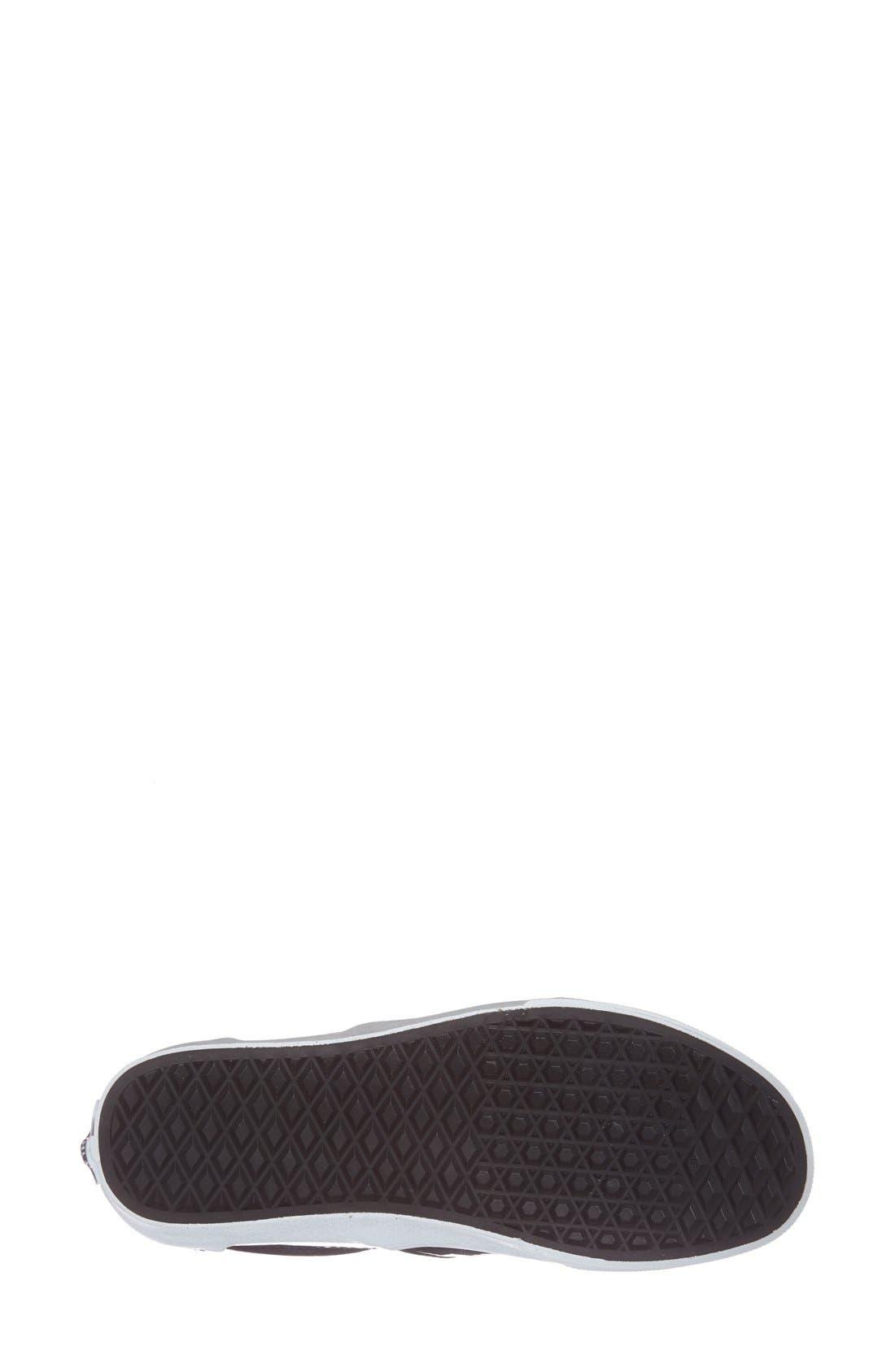 Alternate Image 4  - Vans Patent Leather Slip-On Sneaker (Women)