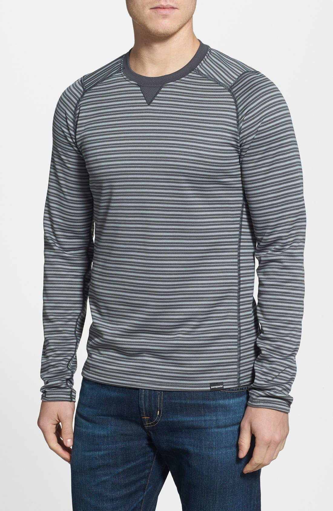 Alternate Image 1 Selected - Patagonia 'Capilene® 3' Slim Fit Base Layer Long Sleeve T-Shirt