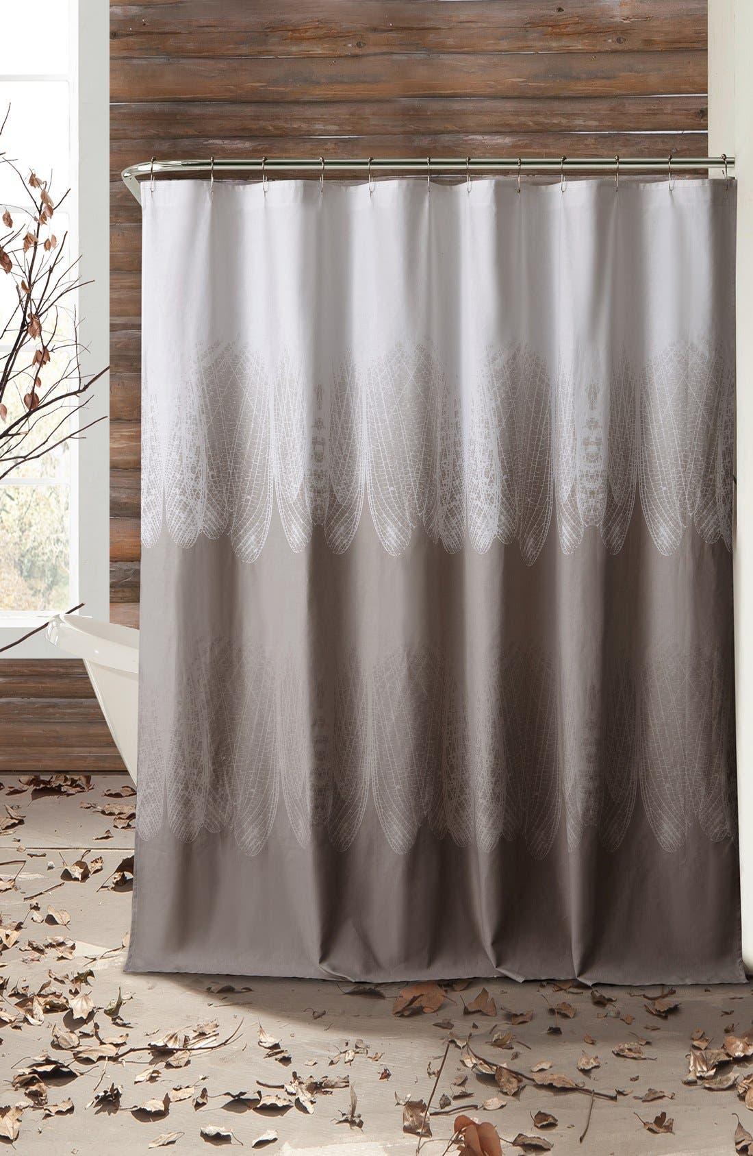 Alternate Image 1 Selected - kensie 'Ingrid' Shower Curtain