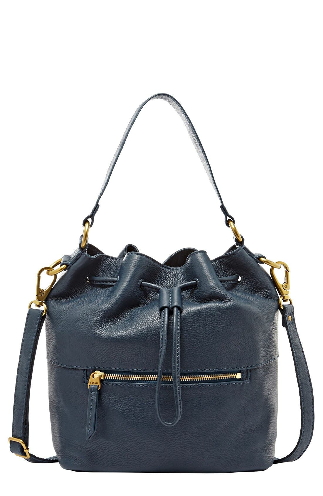 Alternate Image 1 Selected - Fossil 'Vickery' Drawstring Tote